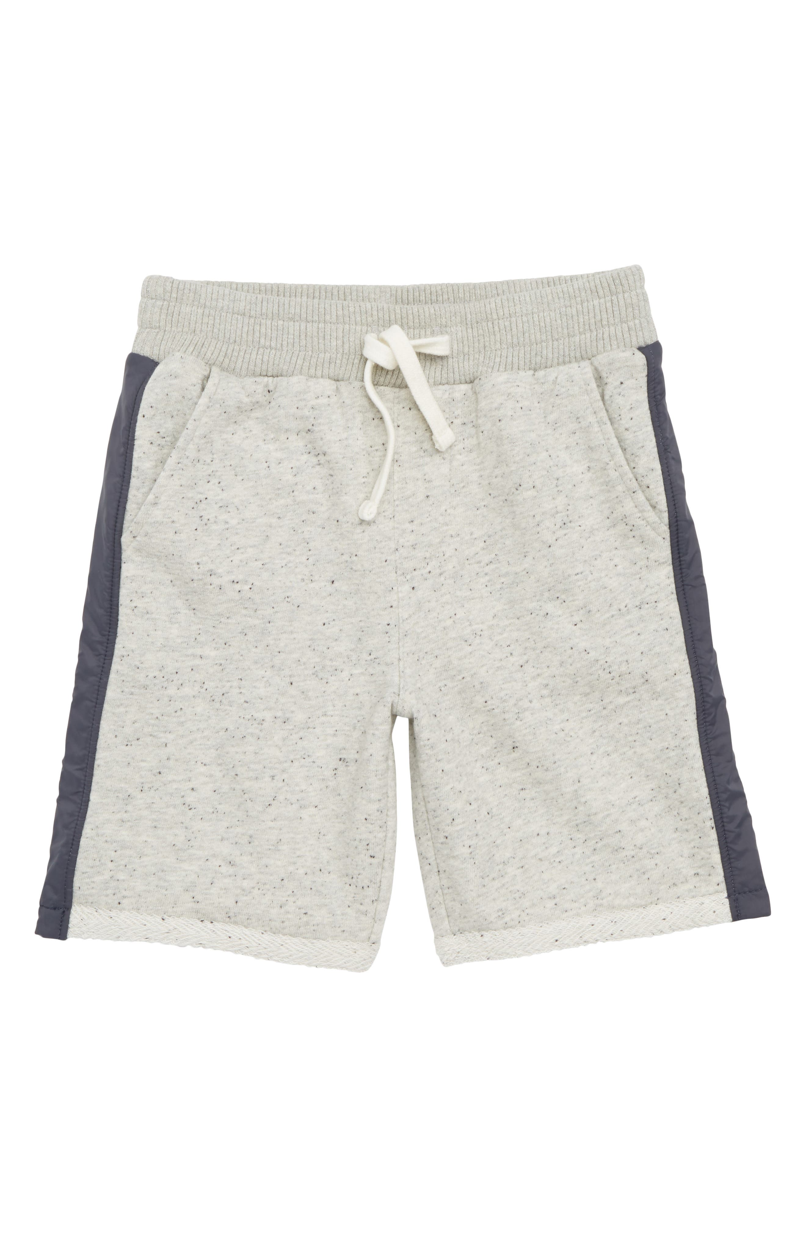 Knit Shorts,                             Main thumbnail 1, color,                             Grey Medium Heather