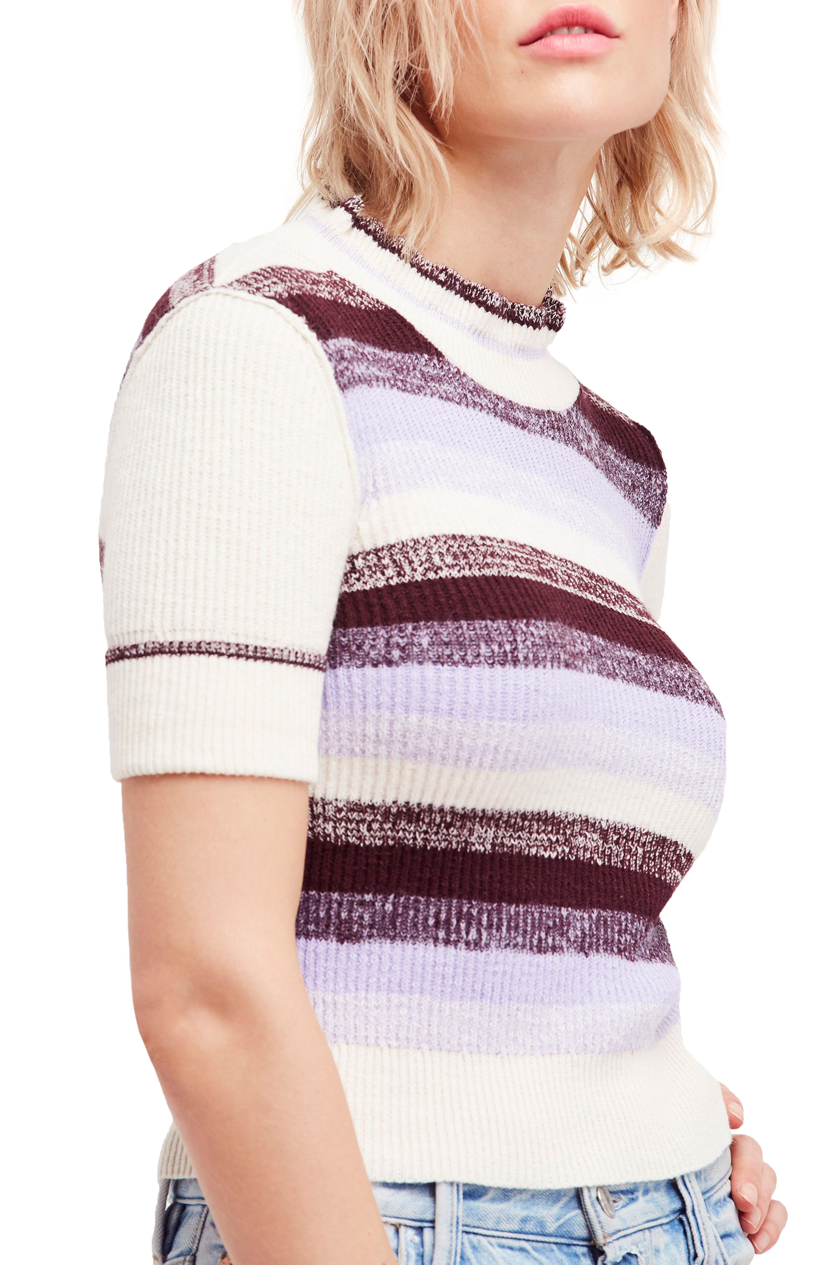 Best Intentions Sweater,                         Main,                         color, Sky