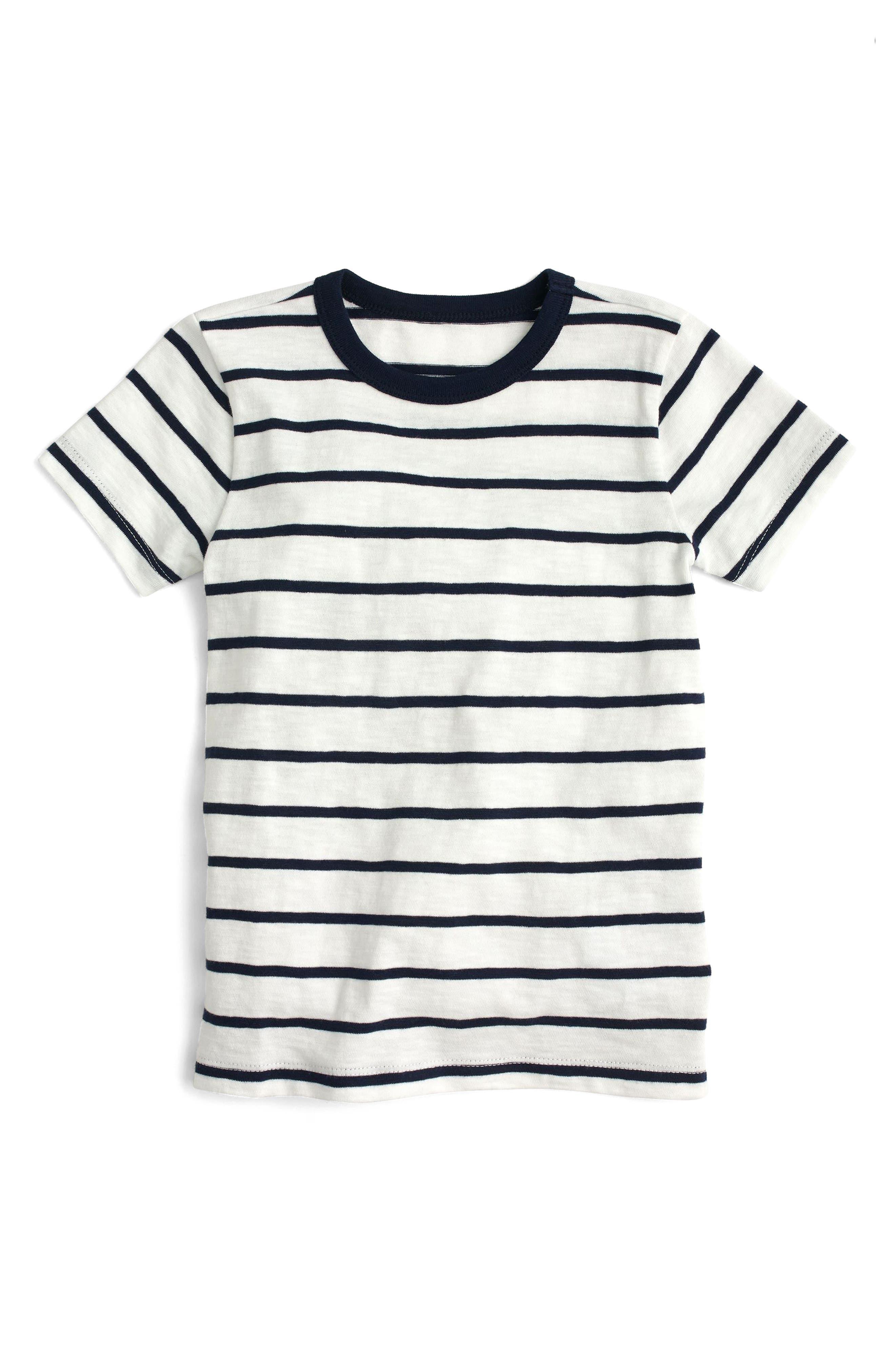 crewcuts by J.Crew Denali Stripe Slub T-Shirt (Toddler Boys, Little Boys & Big Boys)