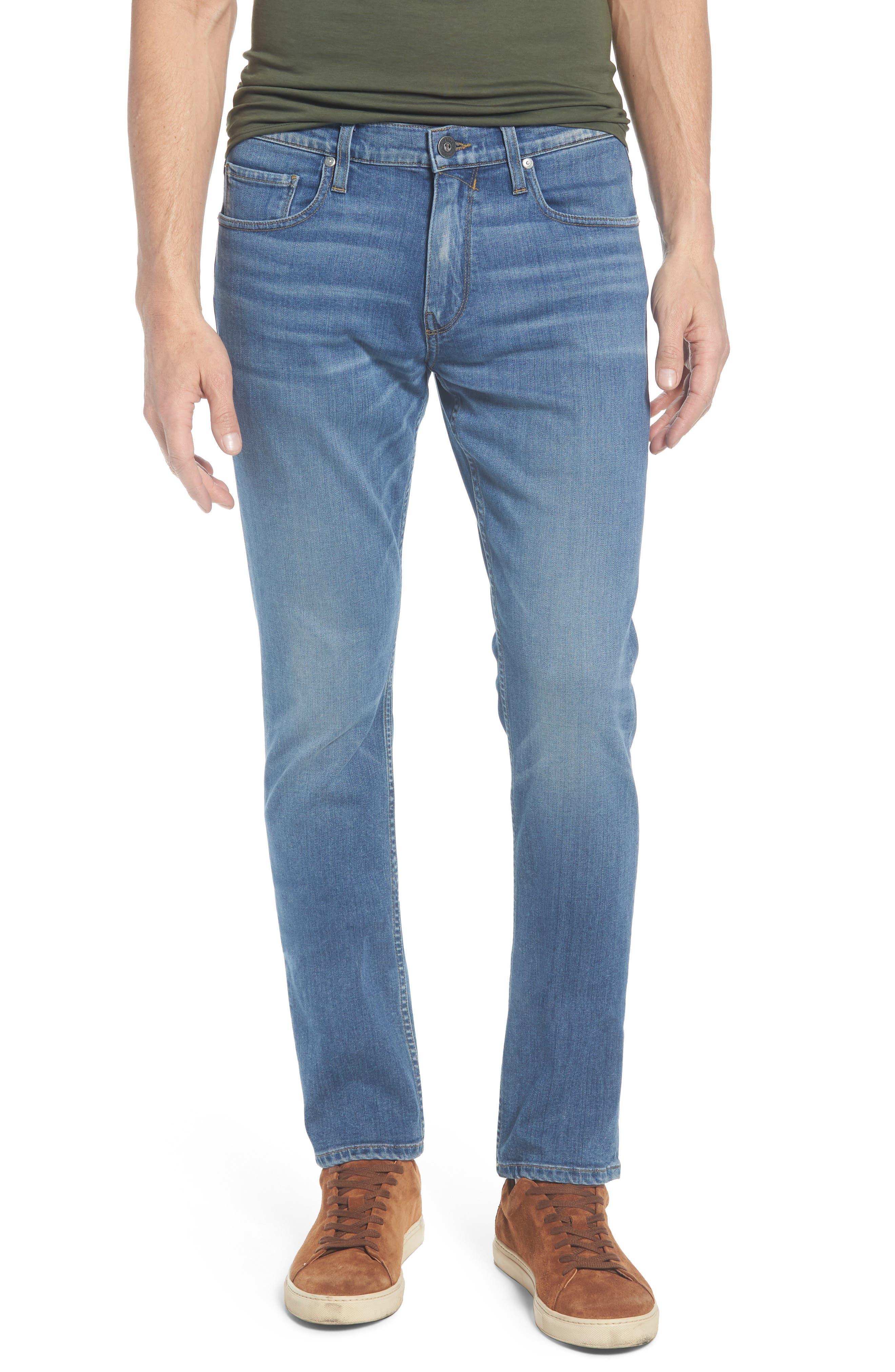 Transcend - Federal Slim Straight Leg Jeans,                             Main thumbnail 1, color,                             Caine