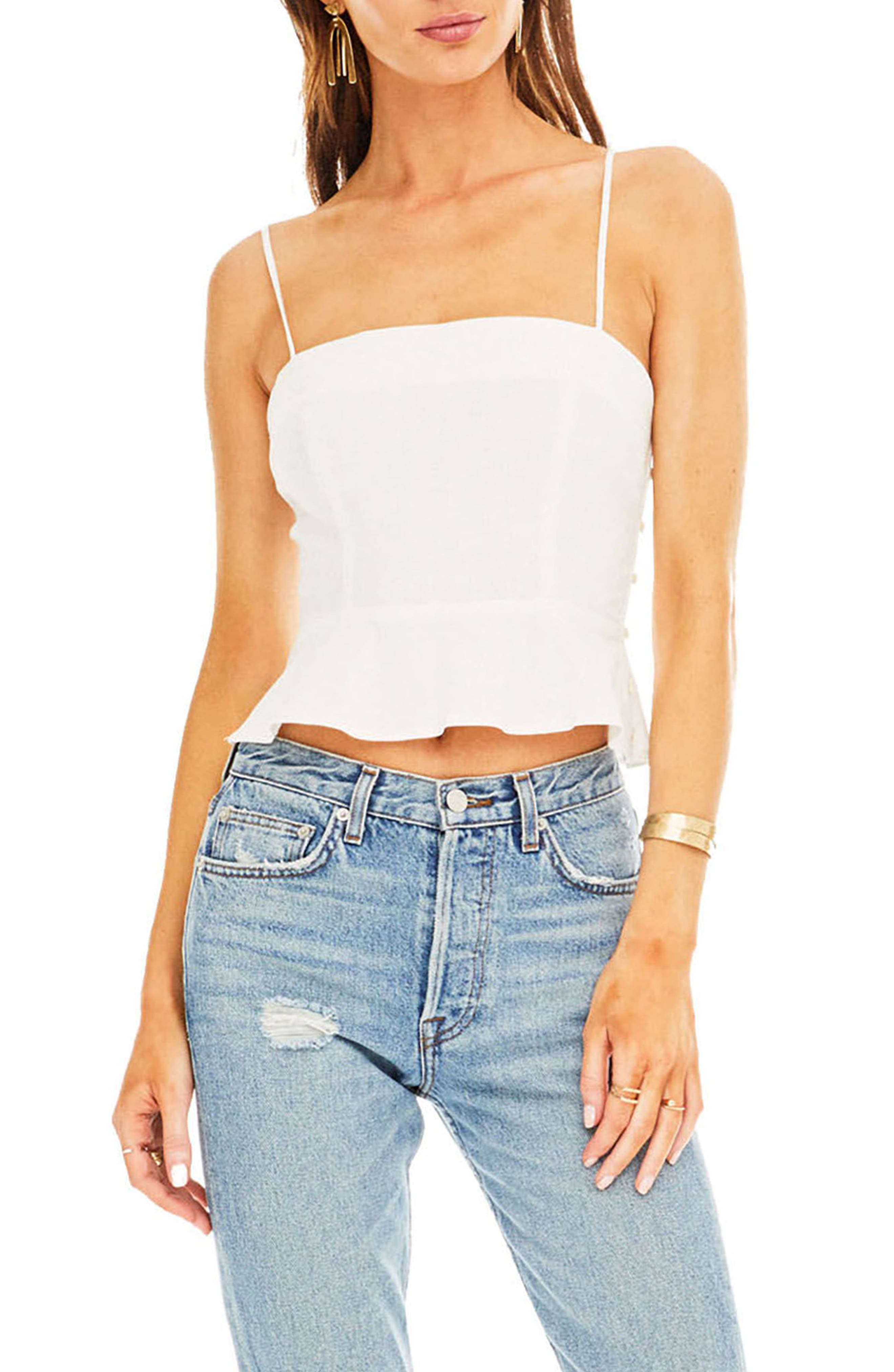 Anika Top,                         Main,                         color, Off-White