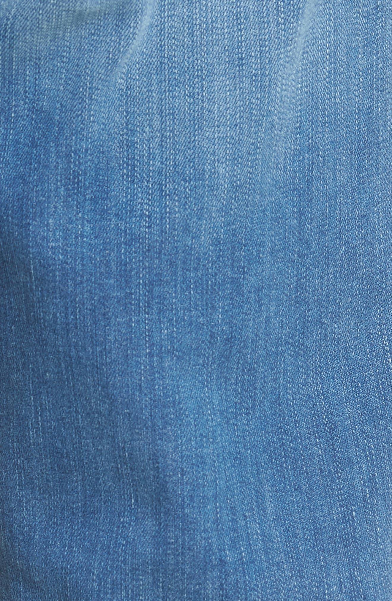Transcend - Federal Slim Straight Leg Jeans,                             Alternate thumbnail 5, color,                             Hammonds