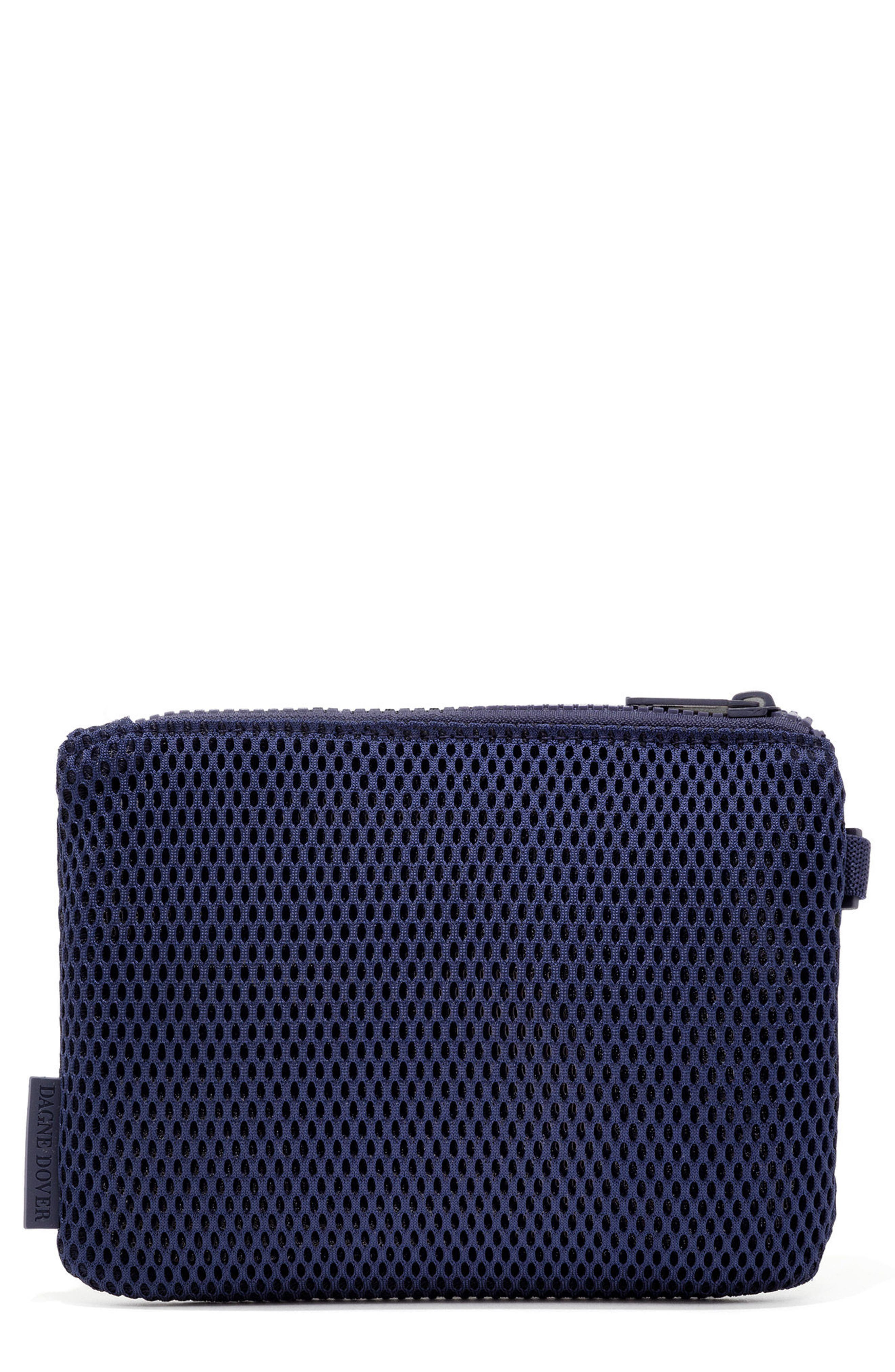SMALL PARKER MESH POUCH - BLUE