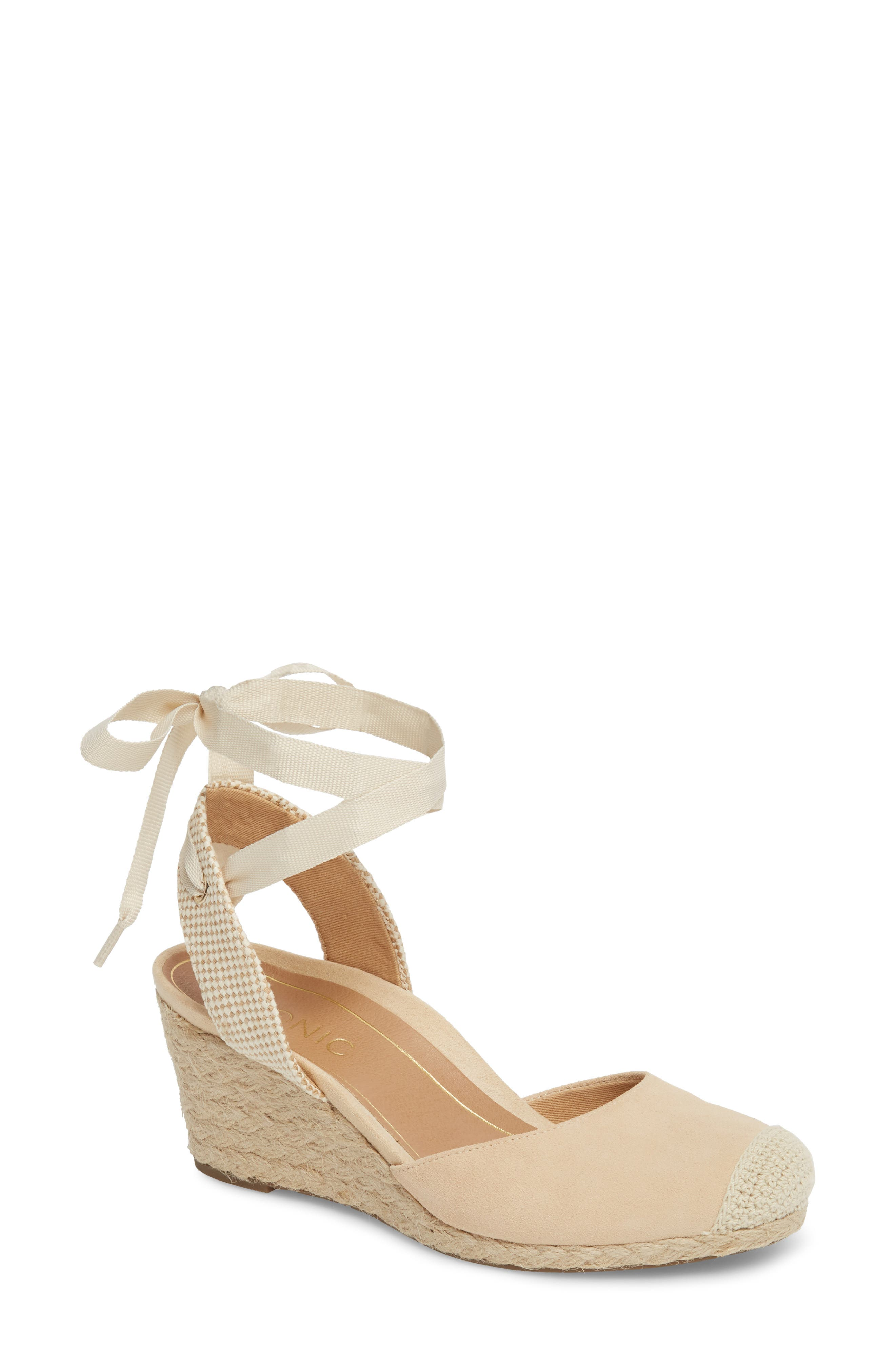 Vionic Maris Orthaheel® Espadrille Wedge Sandal (Women)