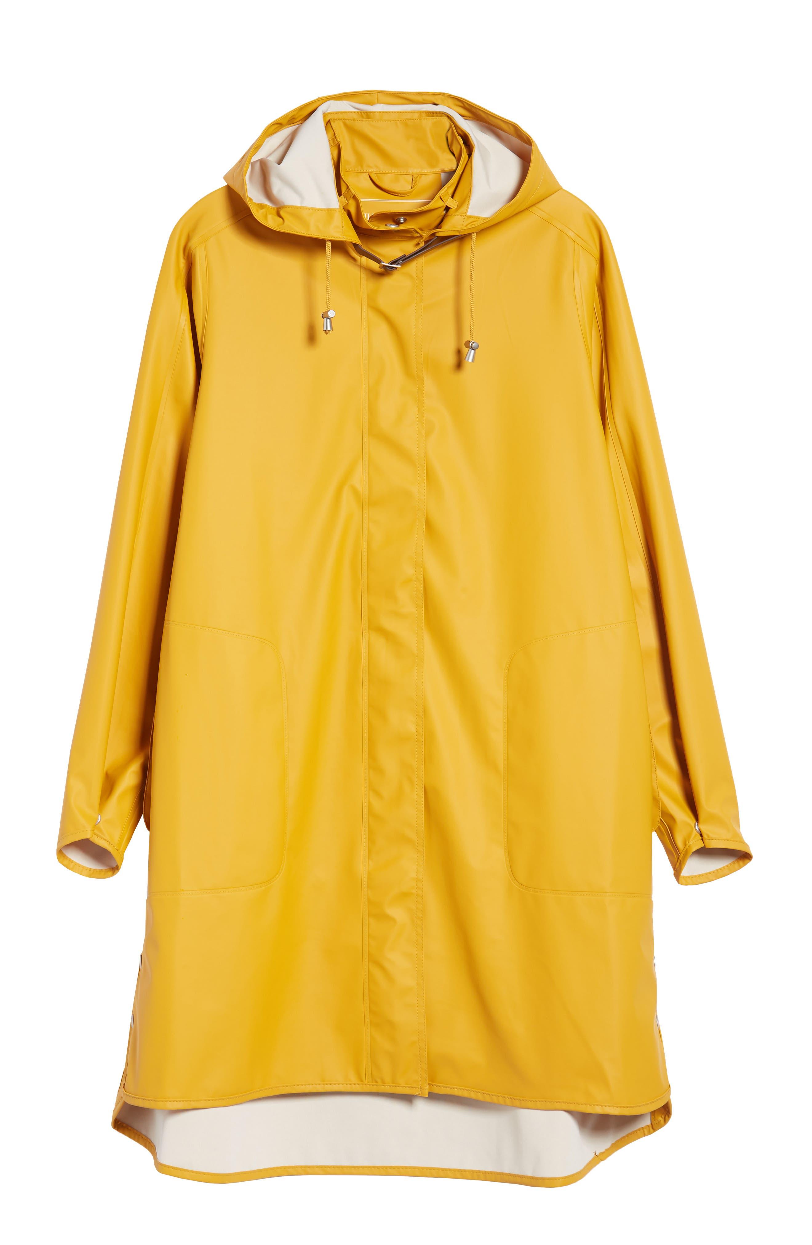 Rain Slicker,                             Alternate thumbnail 7, color,                             Golden Yellow