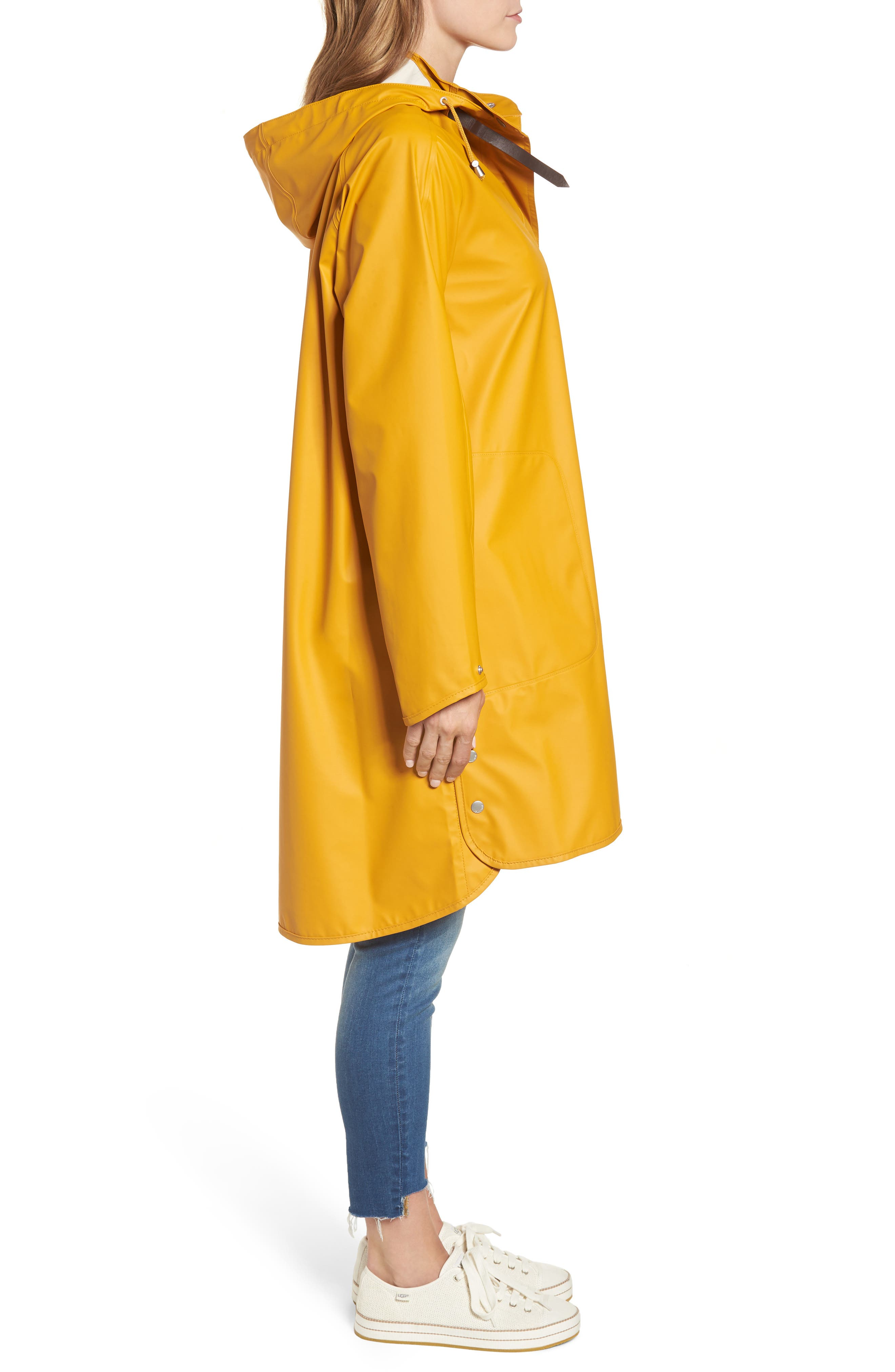 Rain Slicker,                             Alternate thumbnail 3, color,                             Golden Yellow