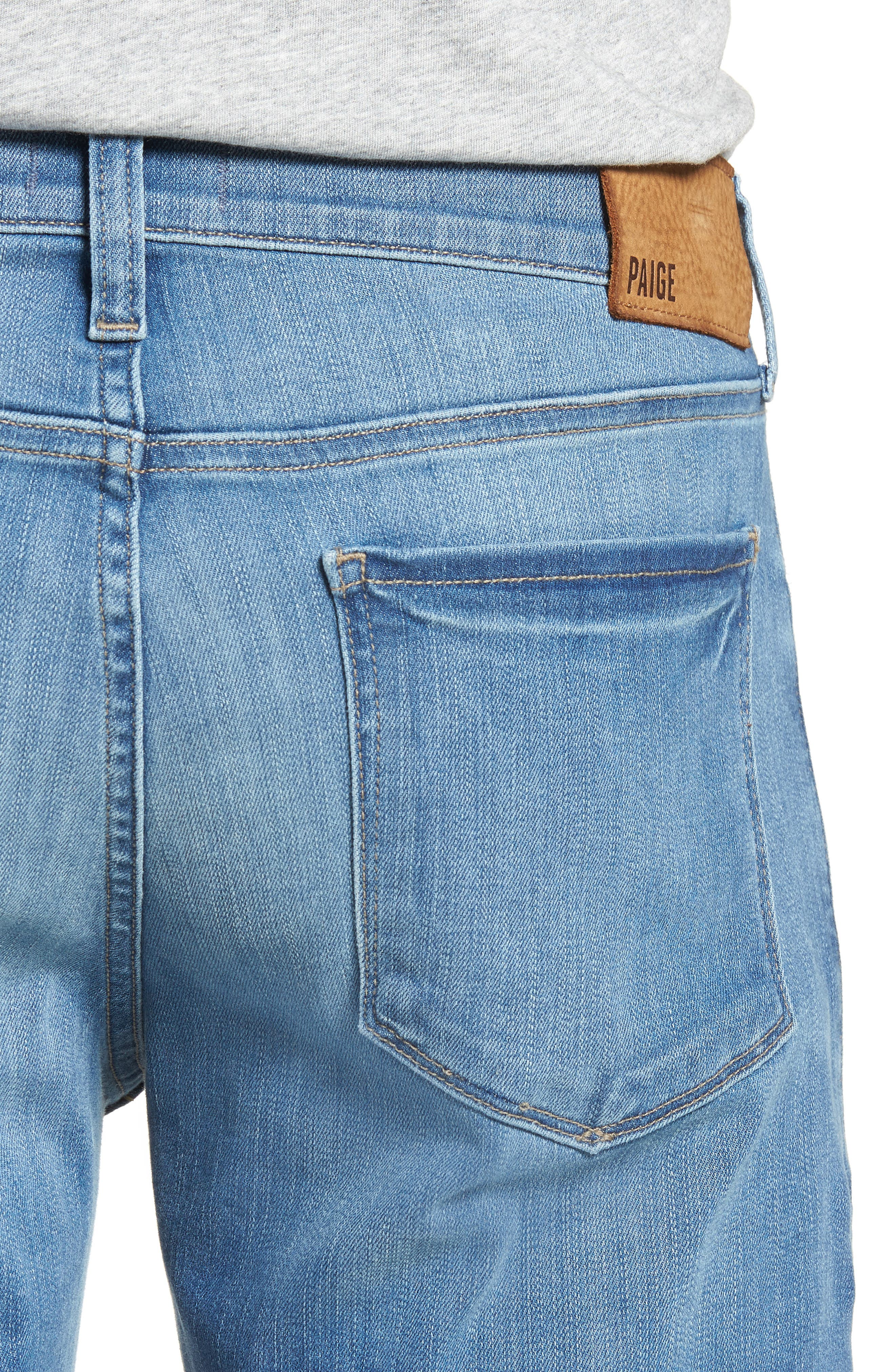 Transcend - Federal Slim Straight Leg Jeans,                             Alternate thumbnail 4, color,                             Hammonds