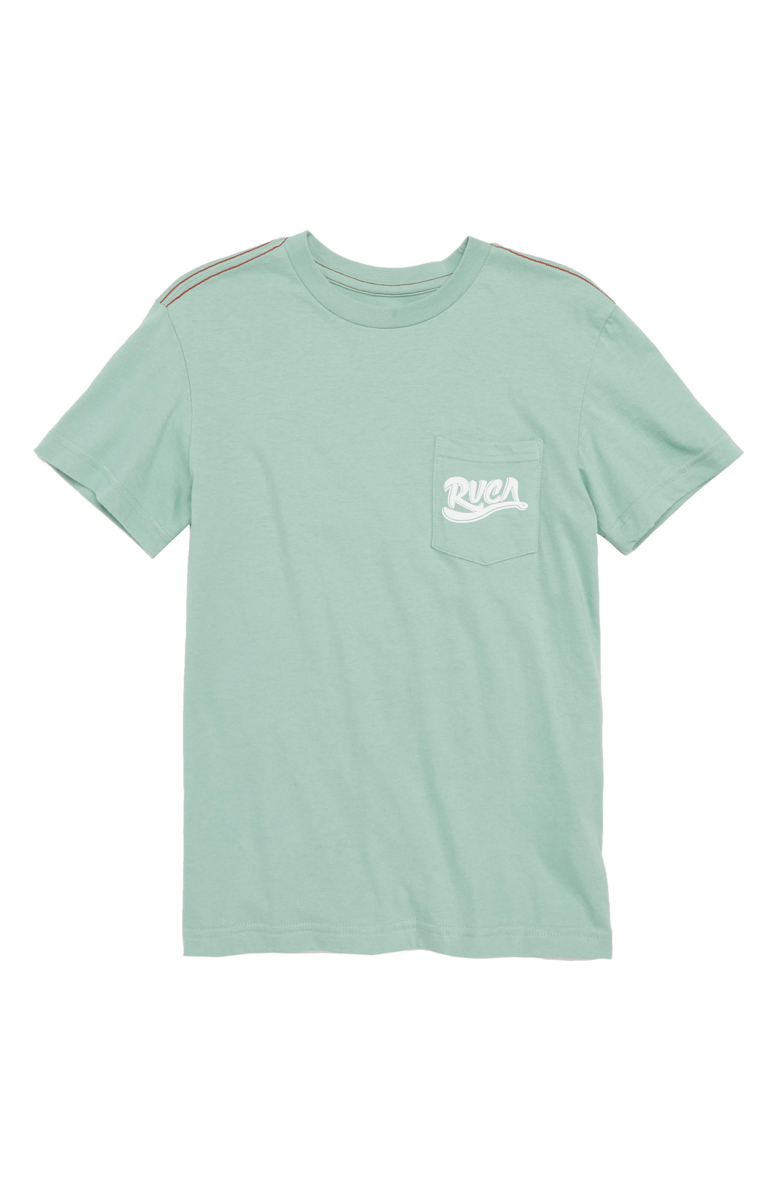 RVCA Score Board Graphic T-Shirt (Big Boys)