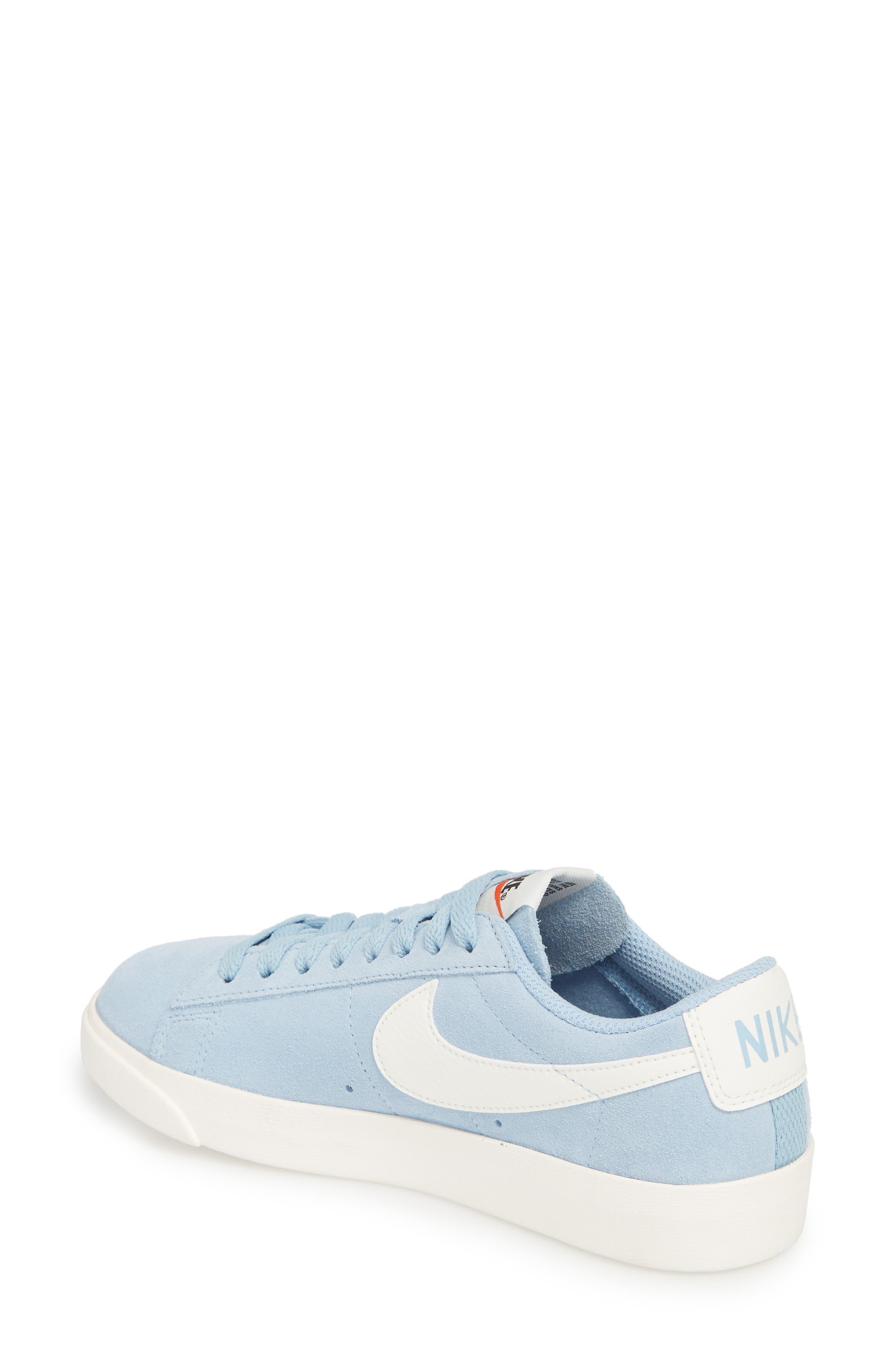 Alternate Image 2  - Nike Blazer Low Sneaker (Women)