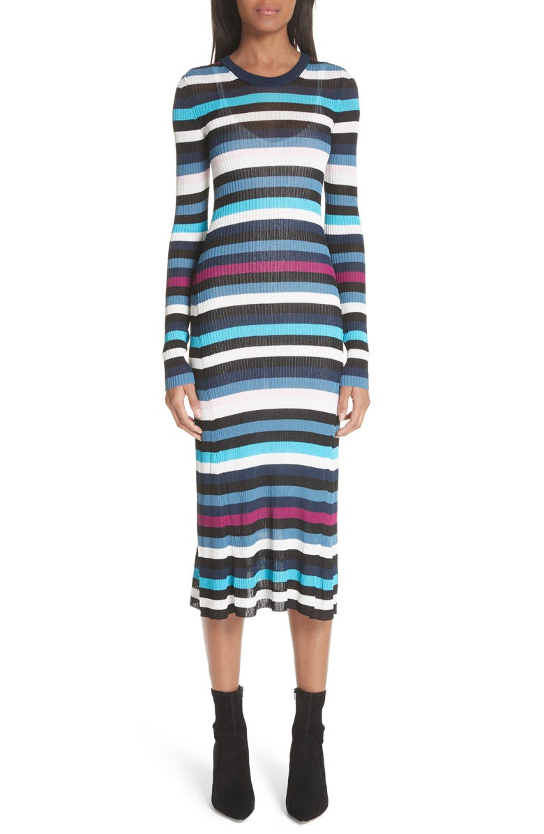 Stills Stripe Rib Knit Dress