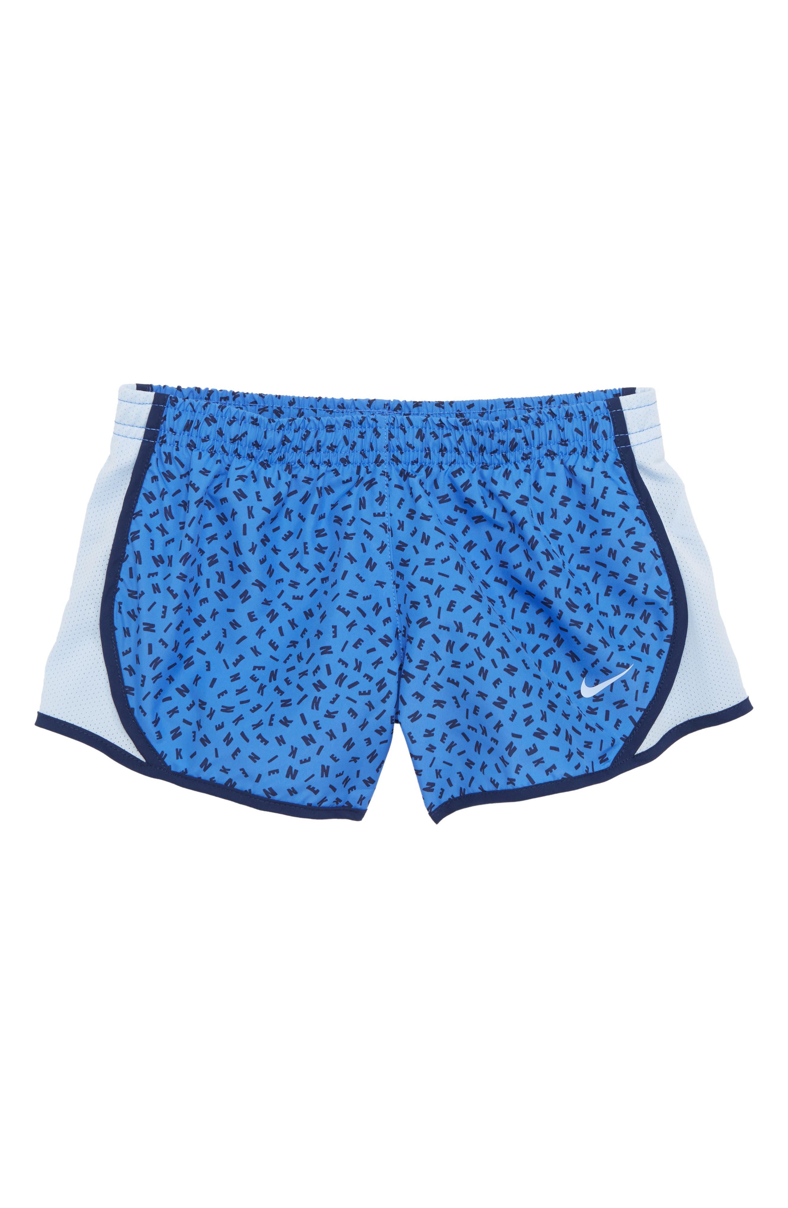 Alternate Image 1 Selected - Nike Dry Tempo Shorts (Big Girls)