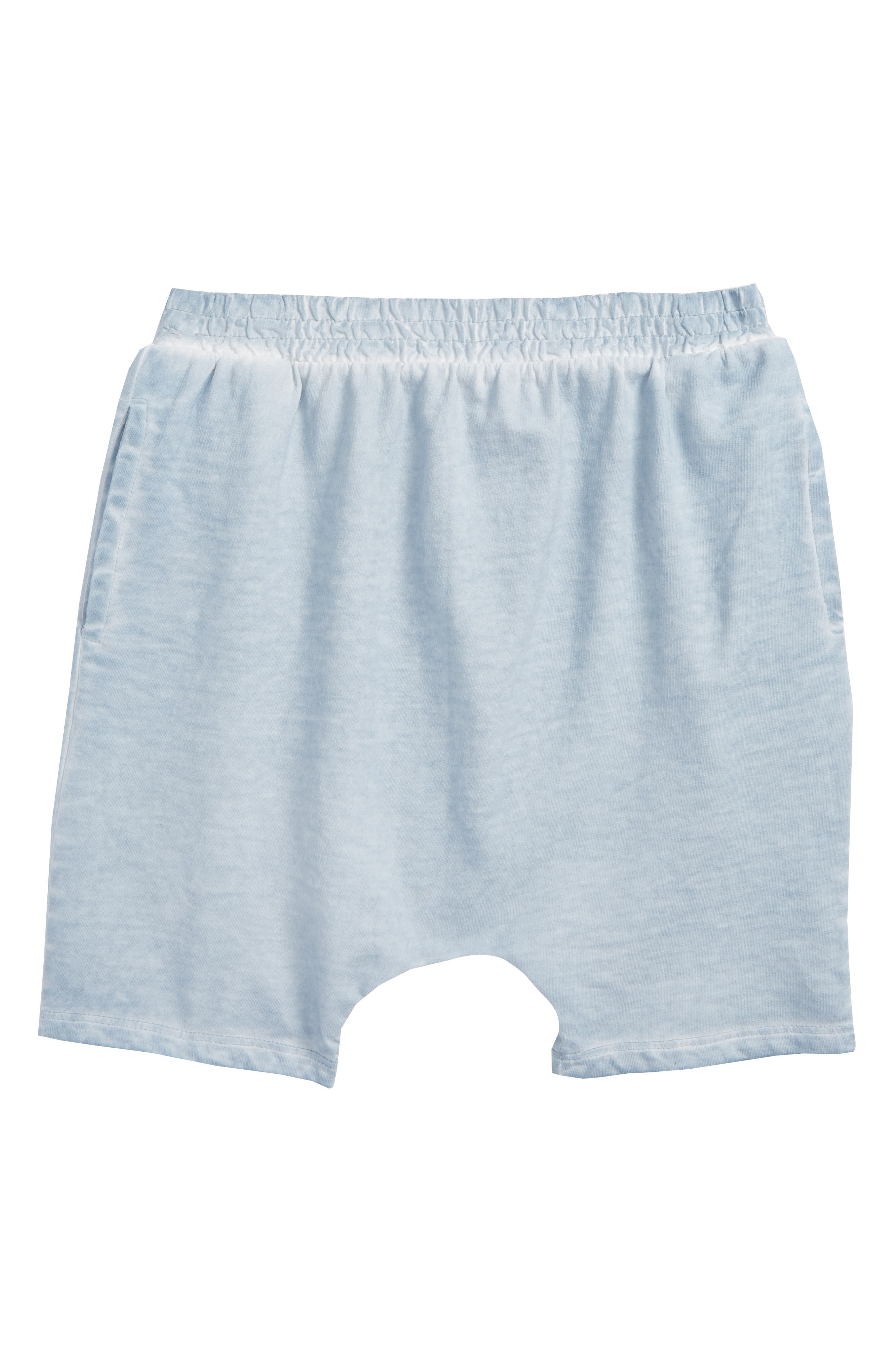 Cotton Shorts,                         Main,                         color, Blue Fog Wash