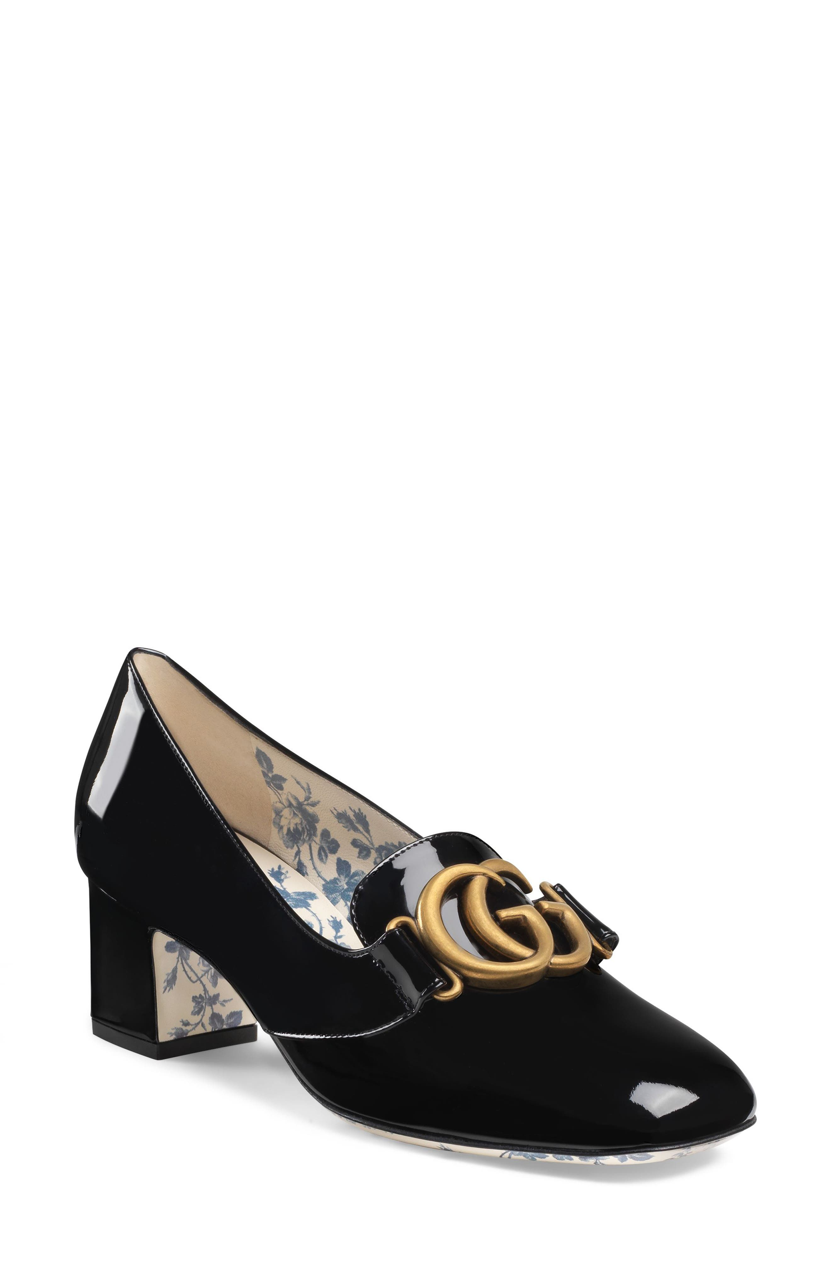 Gucci Victoire Loafer Pump (Women)