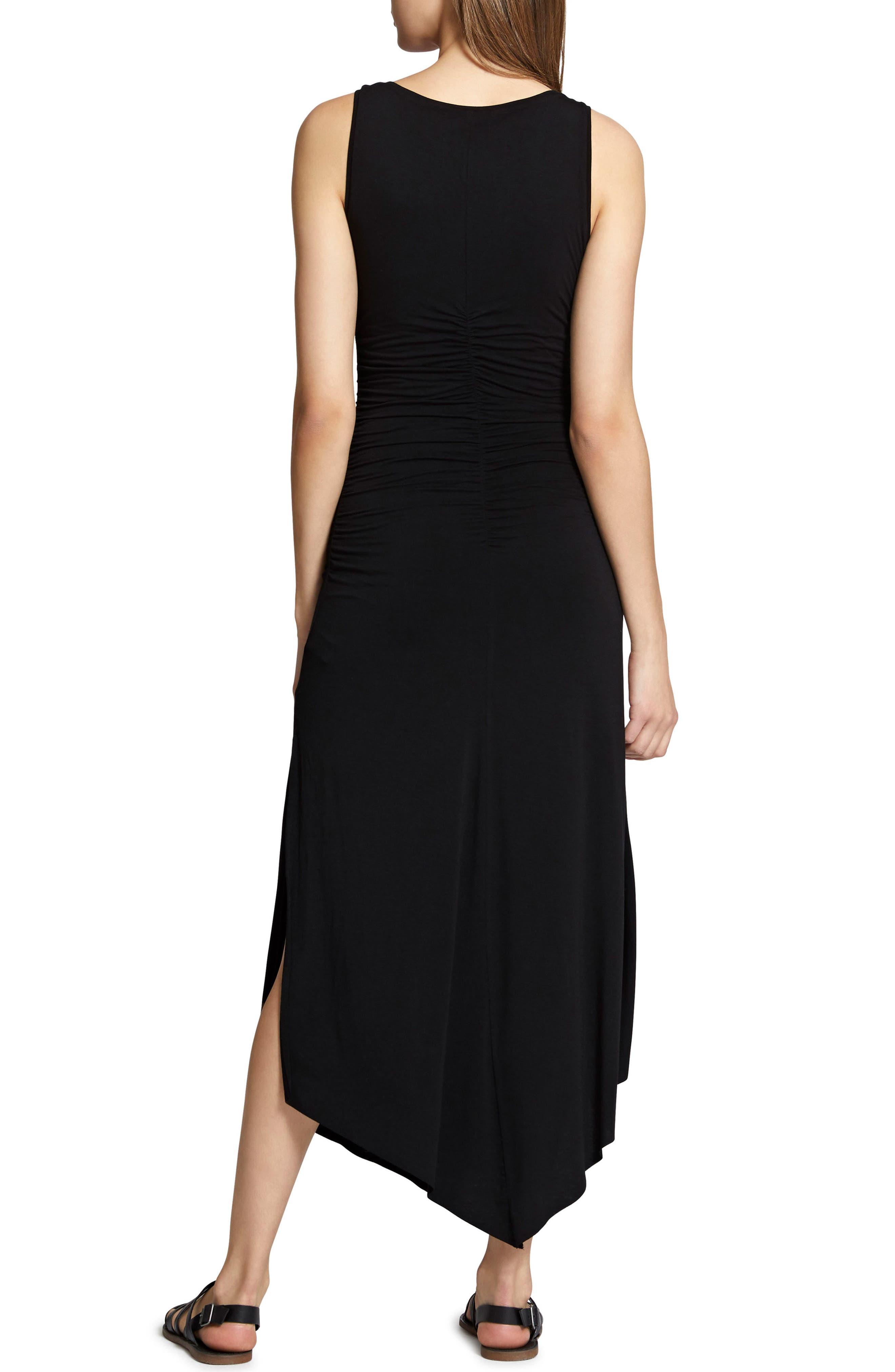 Samba Midi Tank Dress,                             Alternate thumbnail 2, color,                             Black