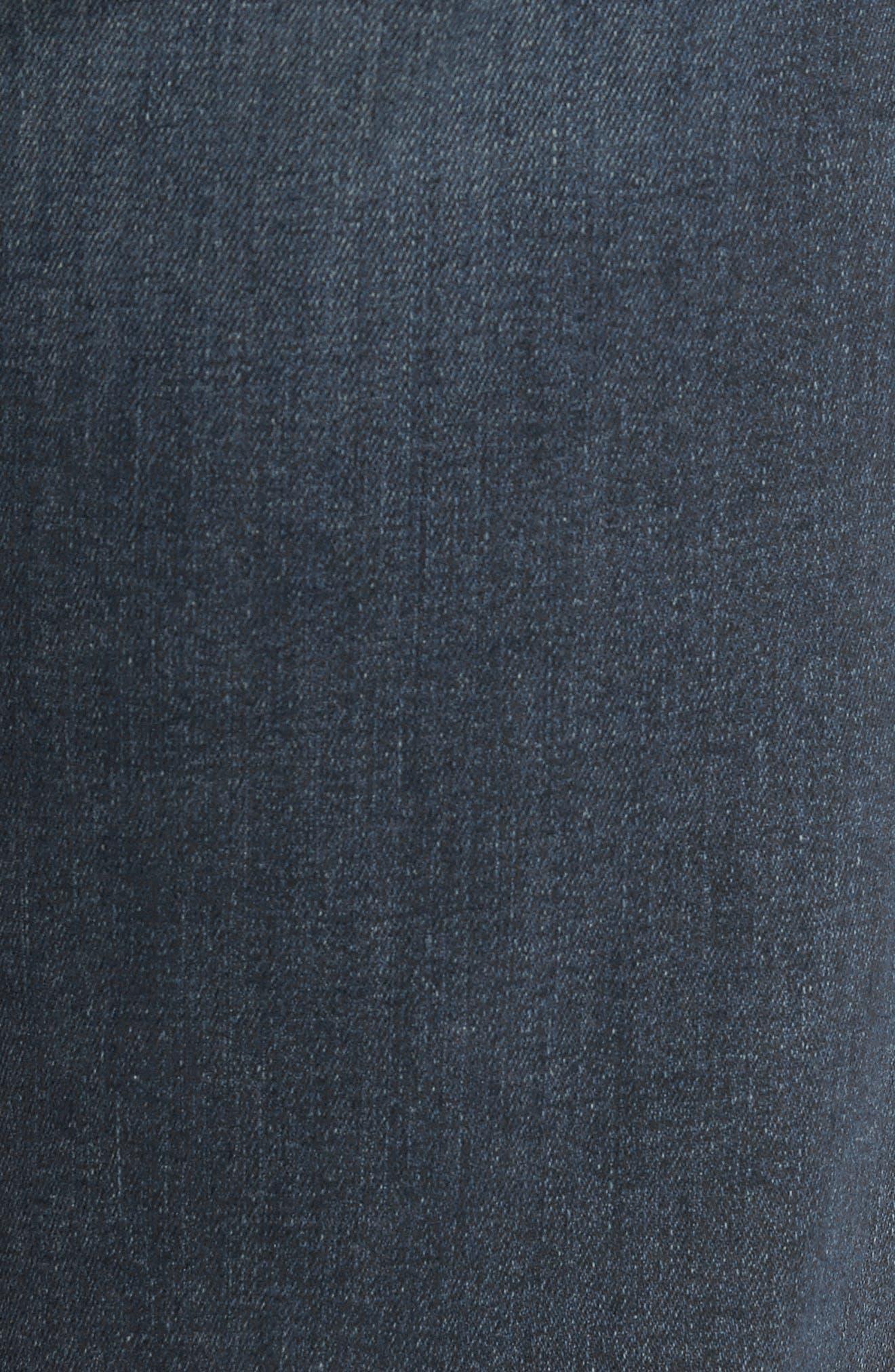 Normandie Straight Leg Jeans,                             Alternate thumbnail 5, color,                             Daniels