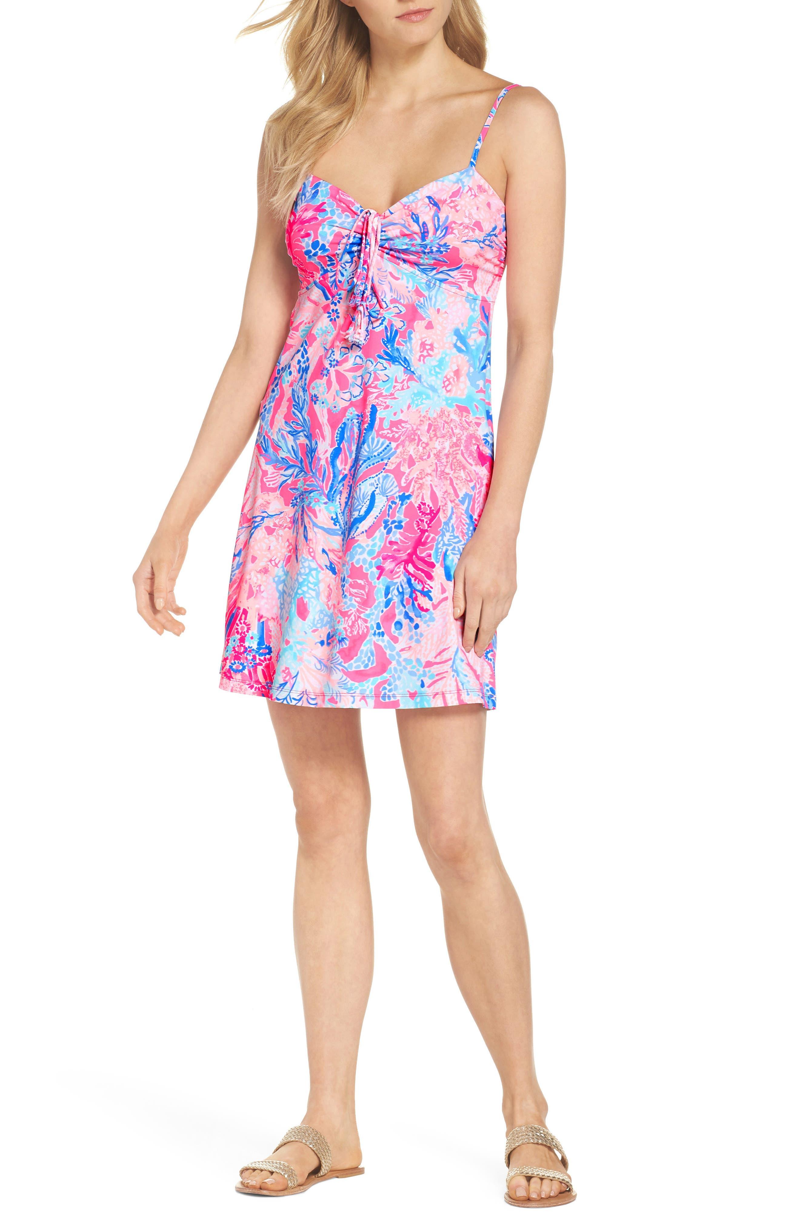 Margarete Cover-Up,                         Main,                         color, Light Pascha Pink Aquadesiac