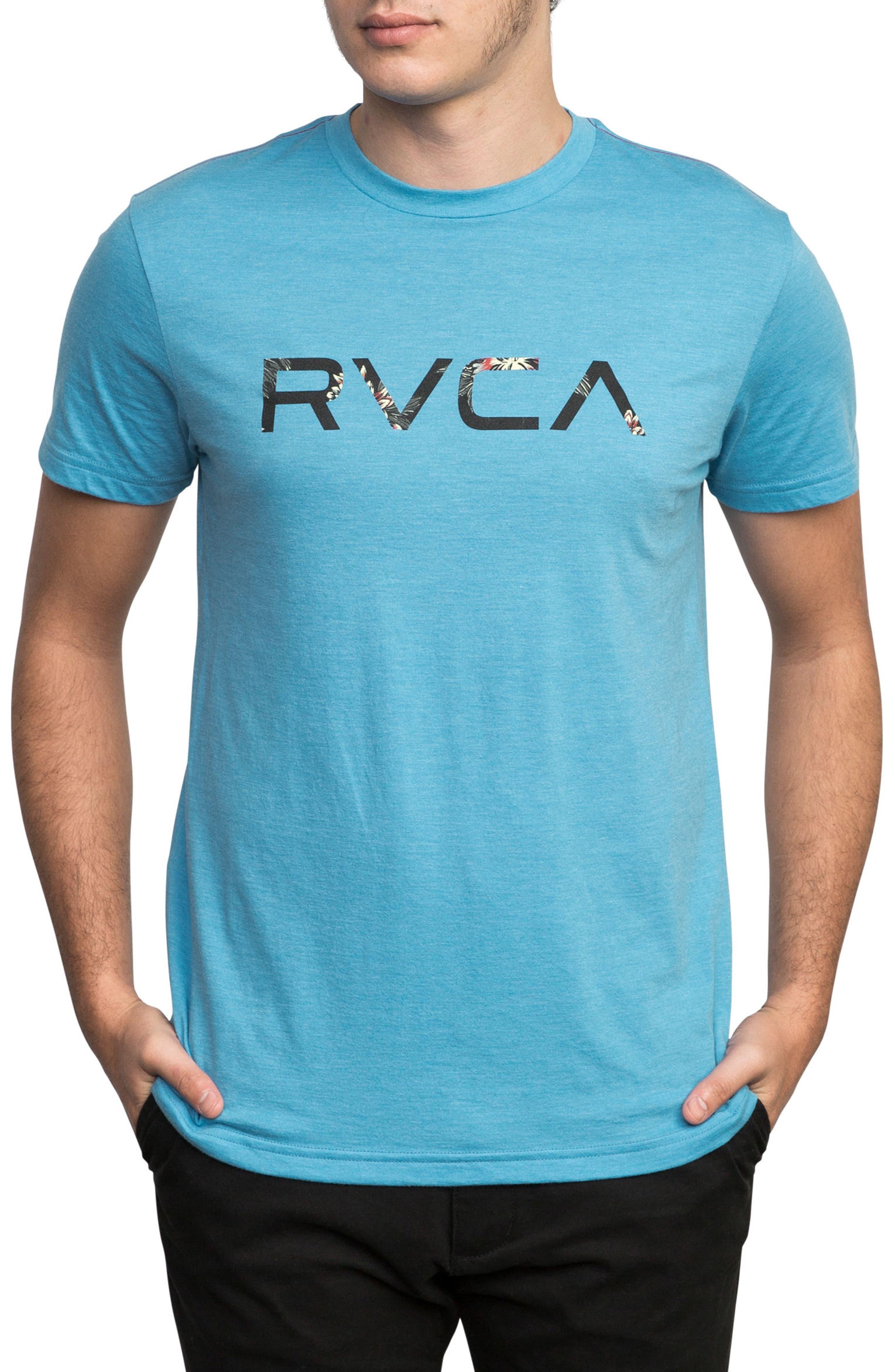 McFloral T-Shirt,                         Main,                         color, Lagoon