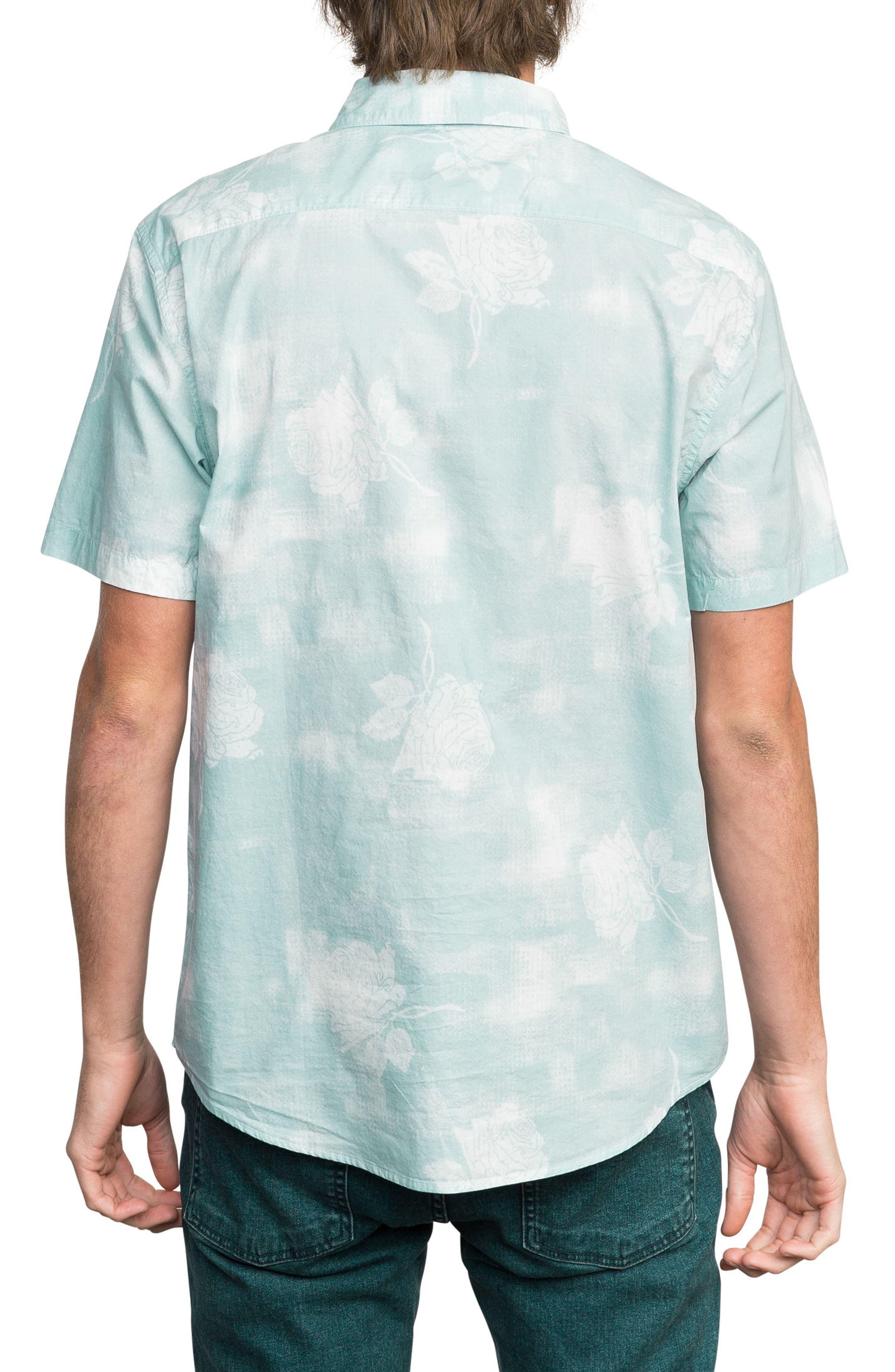 Devastator Woven Shirt,                             Alternate thumbnail 2, color,                             Blue