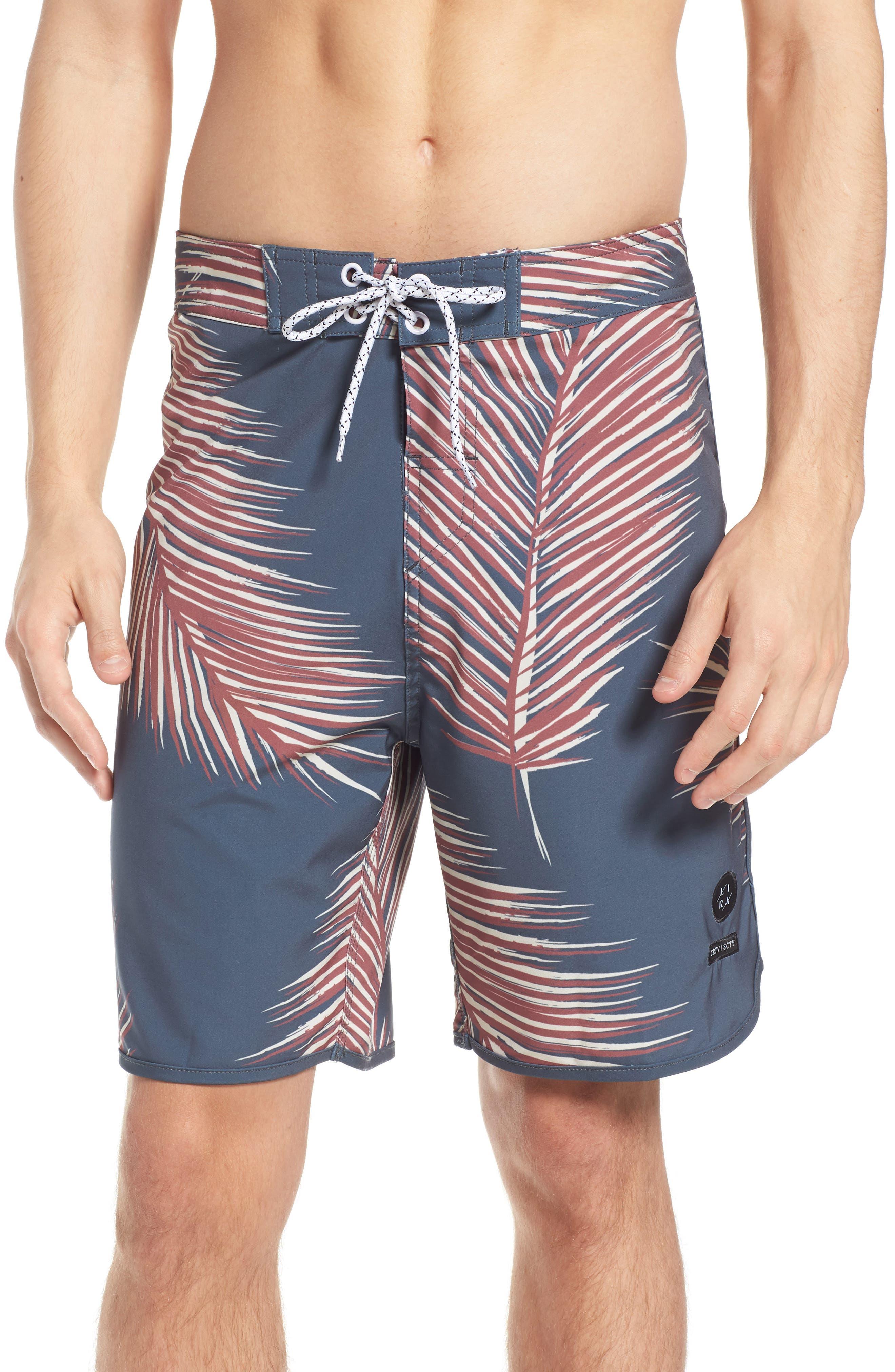 Lira Clothing Giant Palms Board Shorts