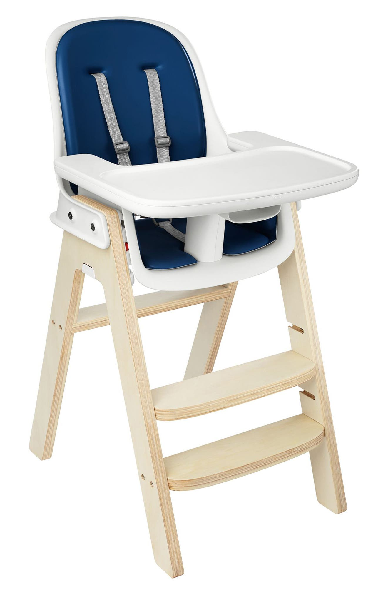 'Sprout' Chair,                             Alternate thumbnail 2, color,                             Navy/ Birch
