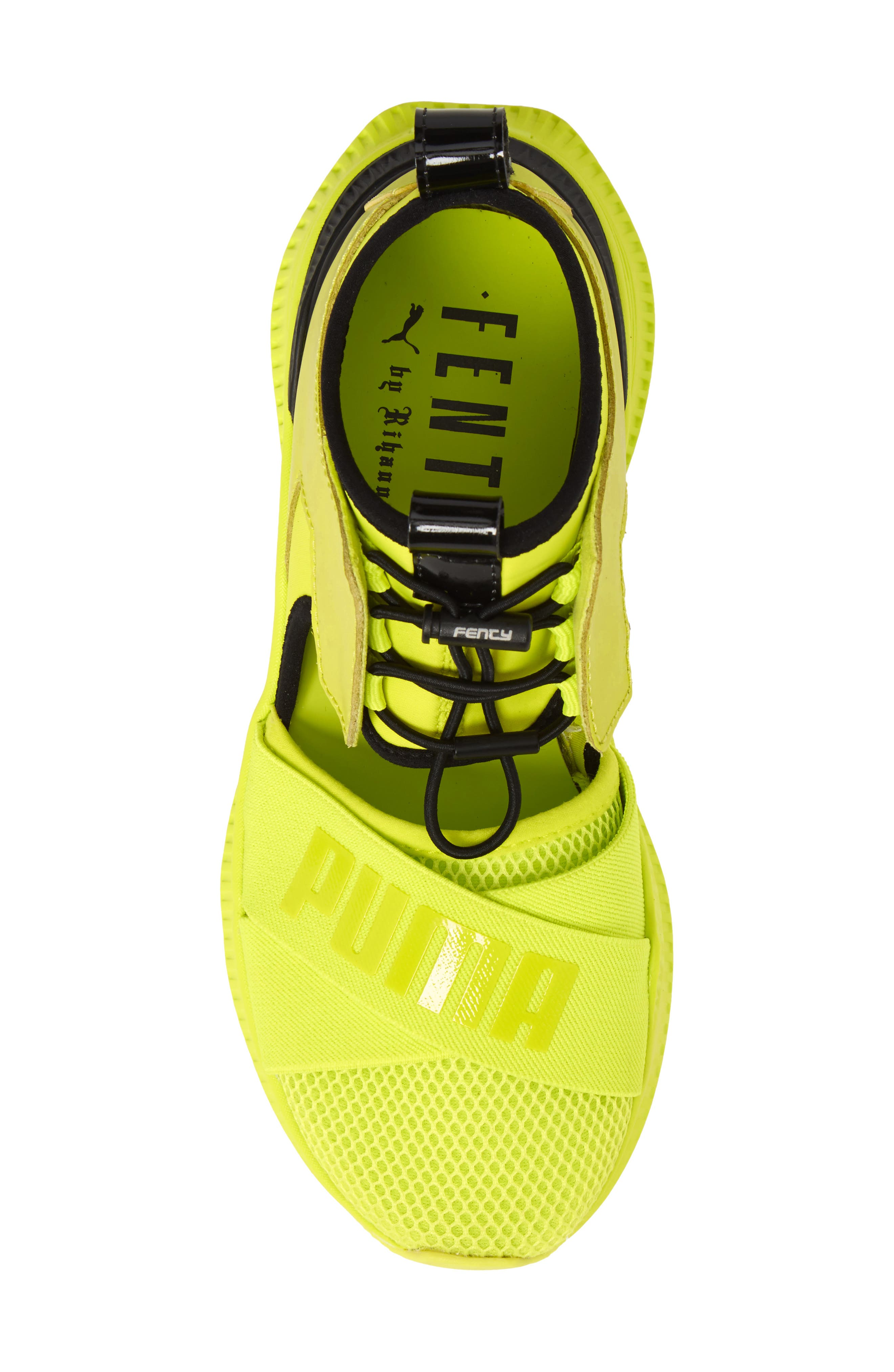 FENTY PUMA by Rihanna Avid Sneaker,                             Alternate thumbnail 5, color,                             Lime Punch/ Black/ Lime Punch