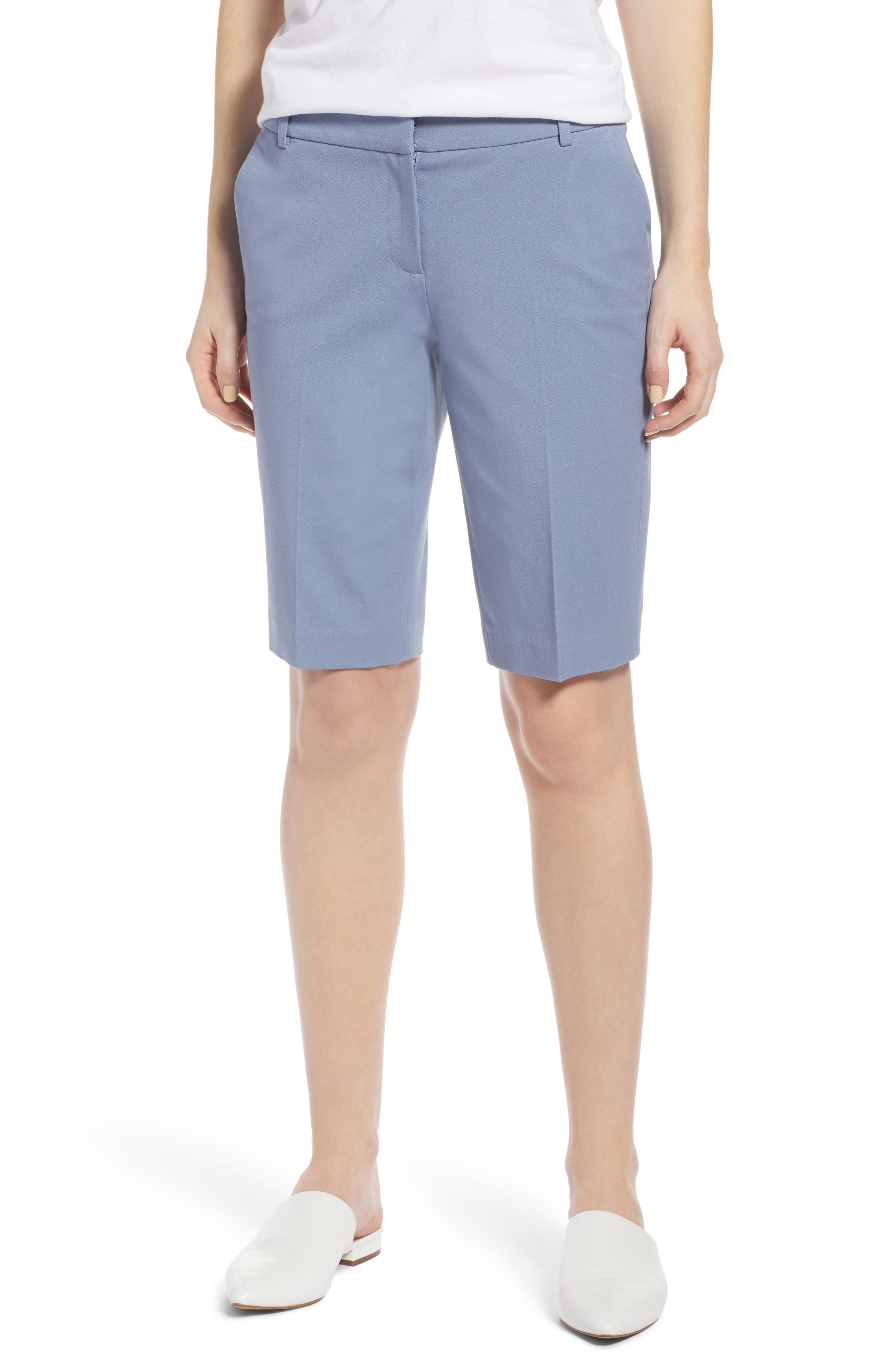 Halogen® Stretch Bermuda Shorts (Regular & Petite)