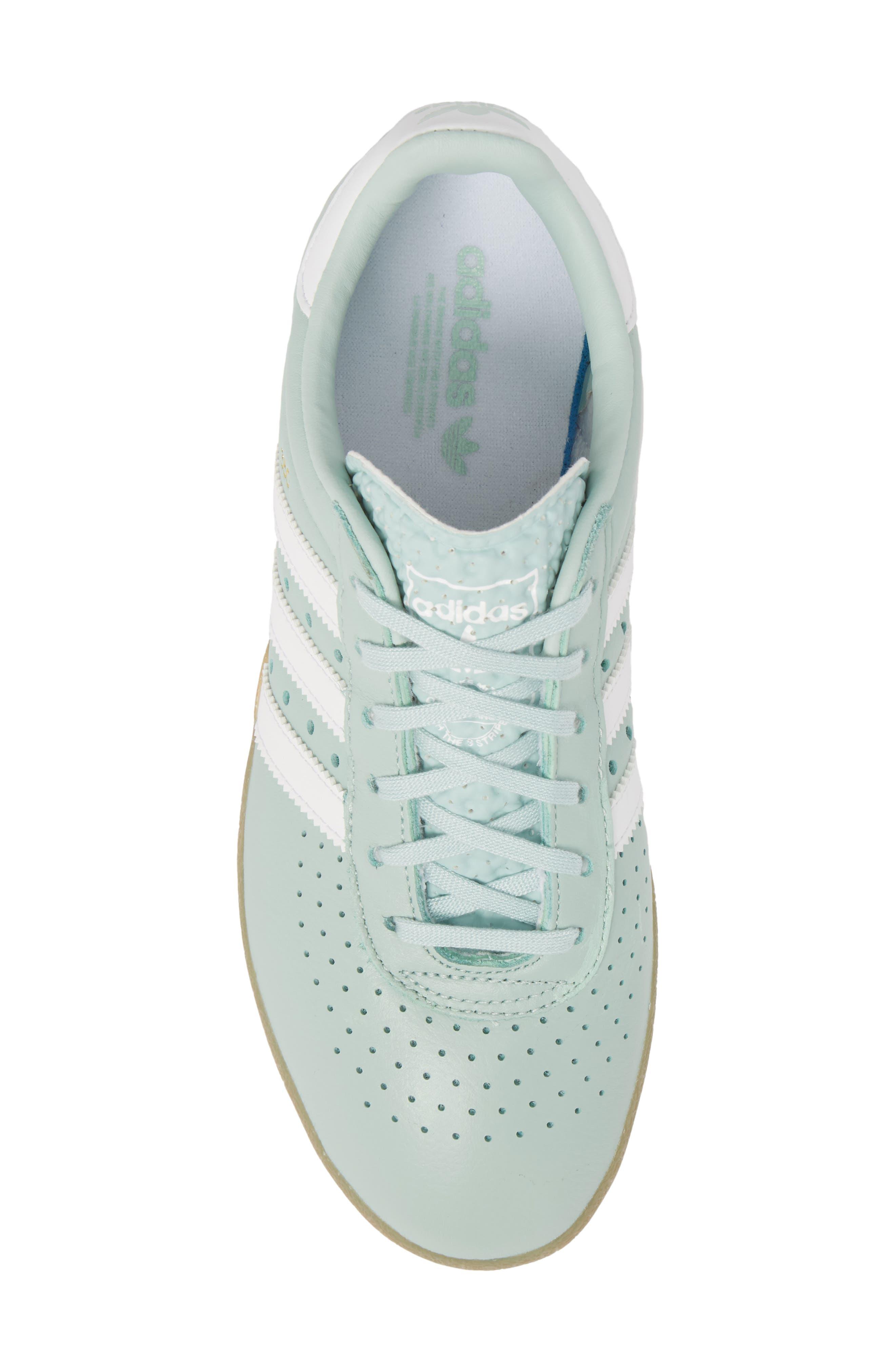 350 Sneaker,                             Alternate thumbnail 5, color,                             Ash Green/ White/ Gum