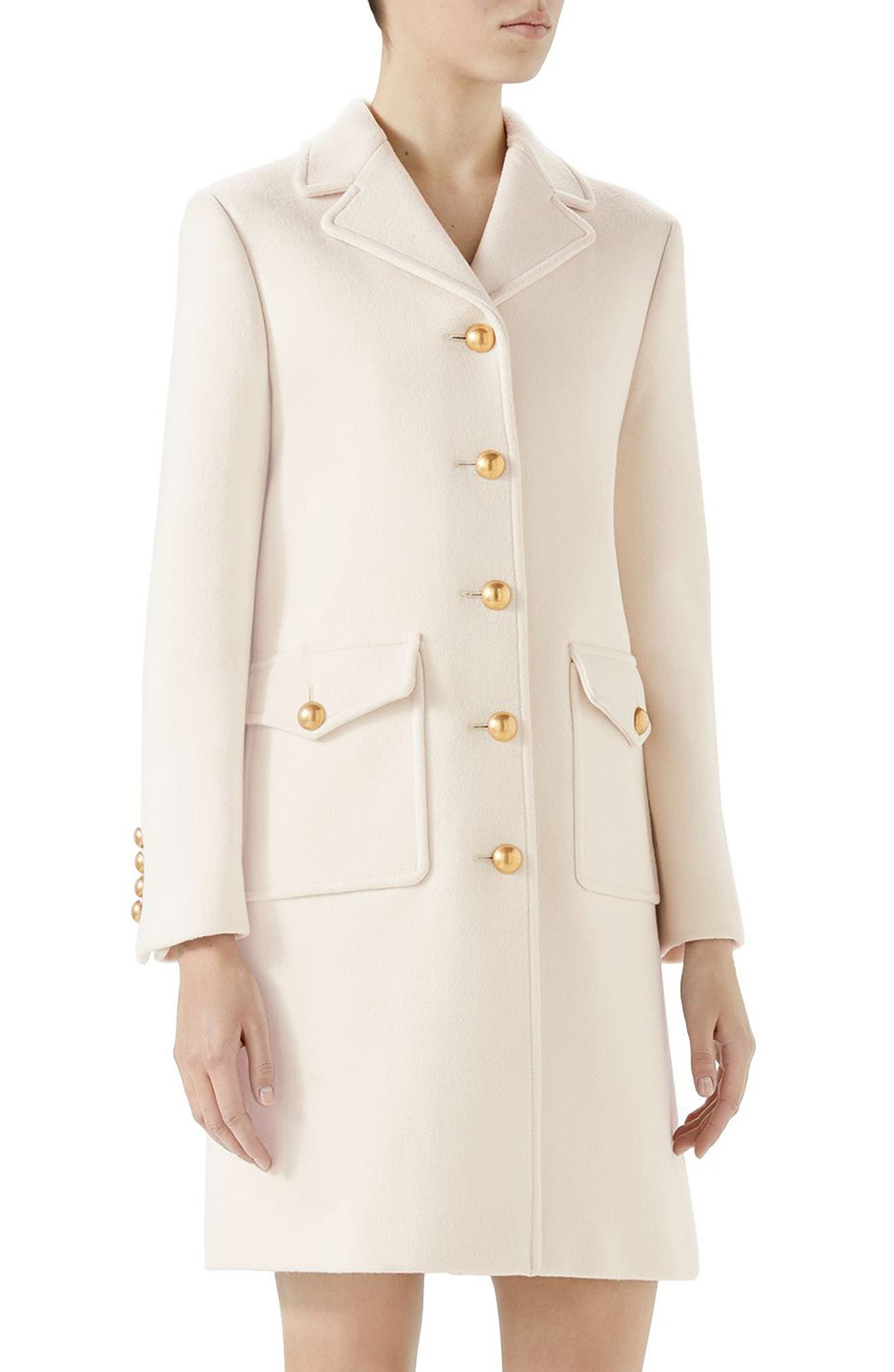 Gucci GG Wool Coat