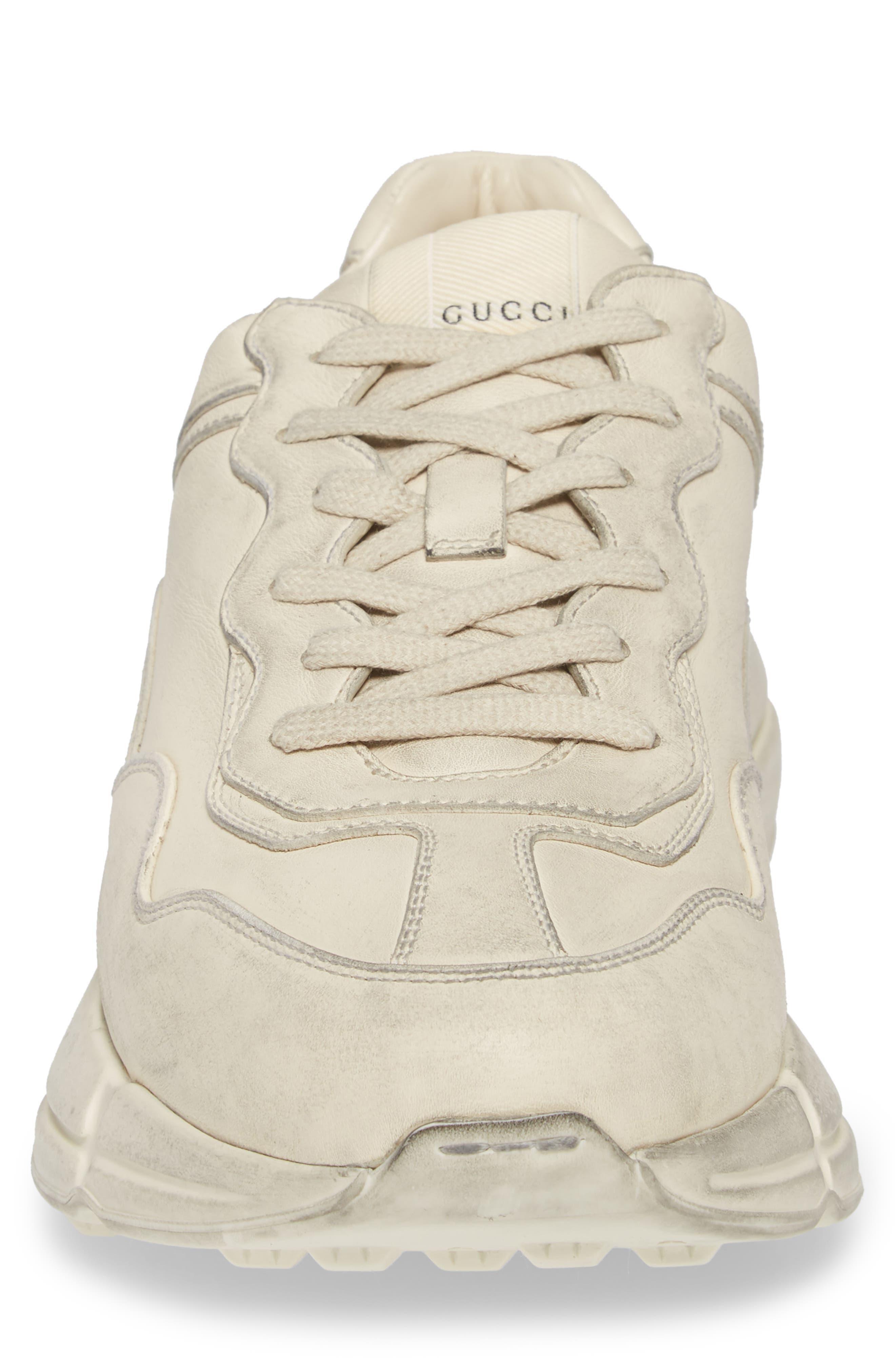 Rhyton Sneaker,                             Alternate thumbnail 4, color,                             Ivory White
