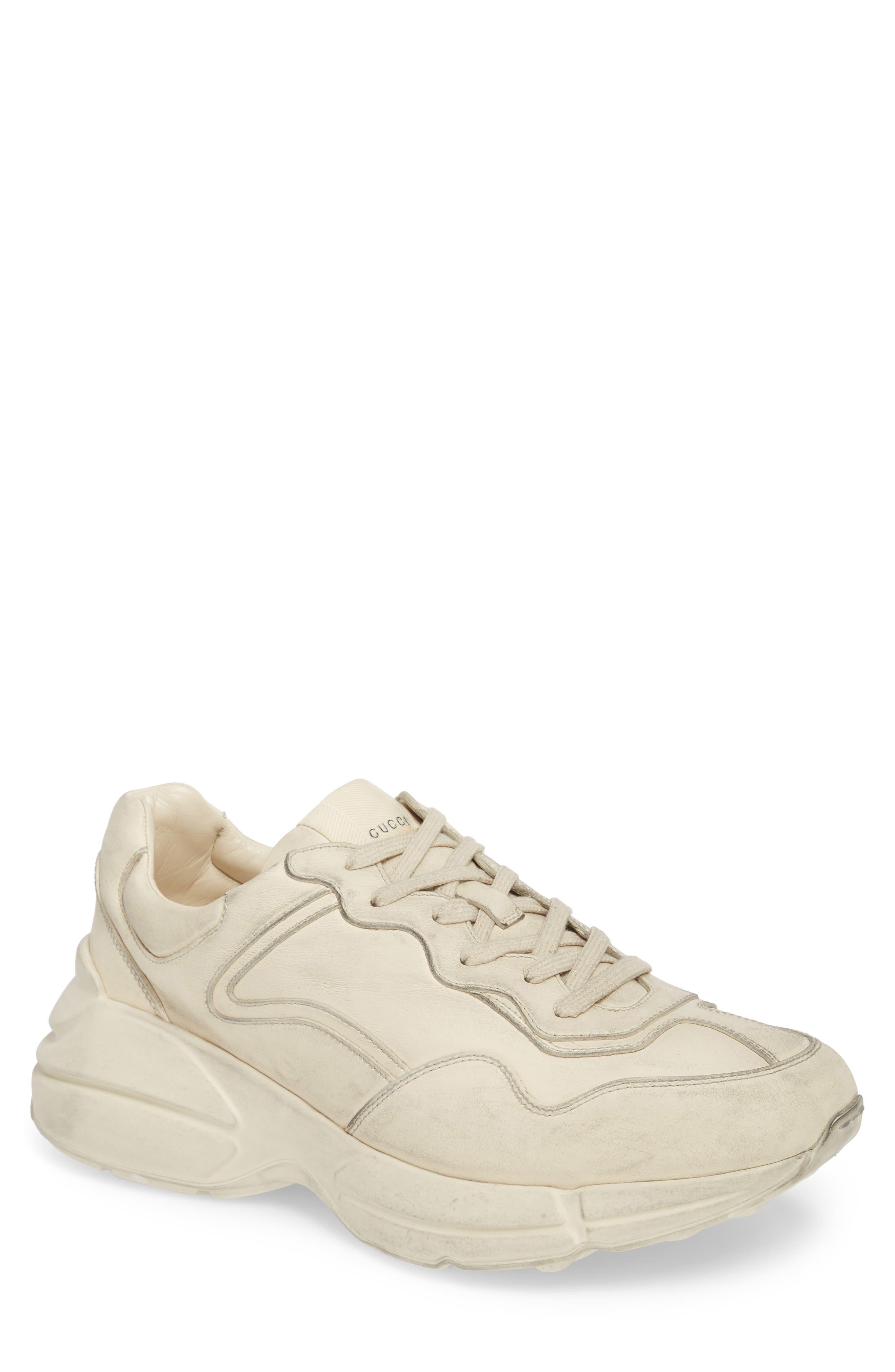 Rhyton Sneaker,                         Main,                         color, Ivory White