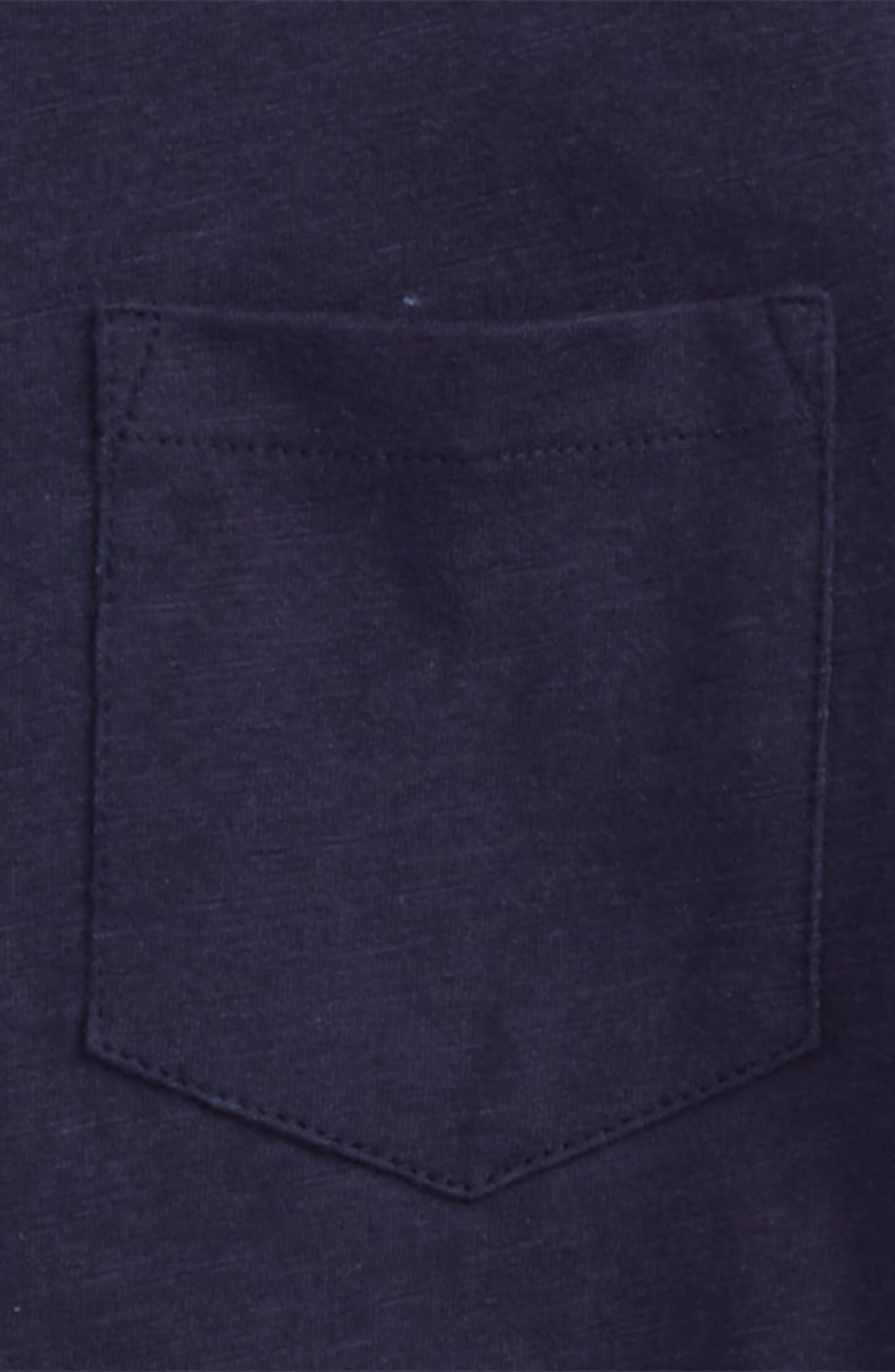 Pocket T-Shirt,                             Alternate thumbnail 2, color,                             Navy