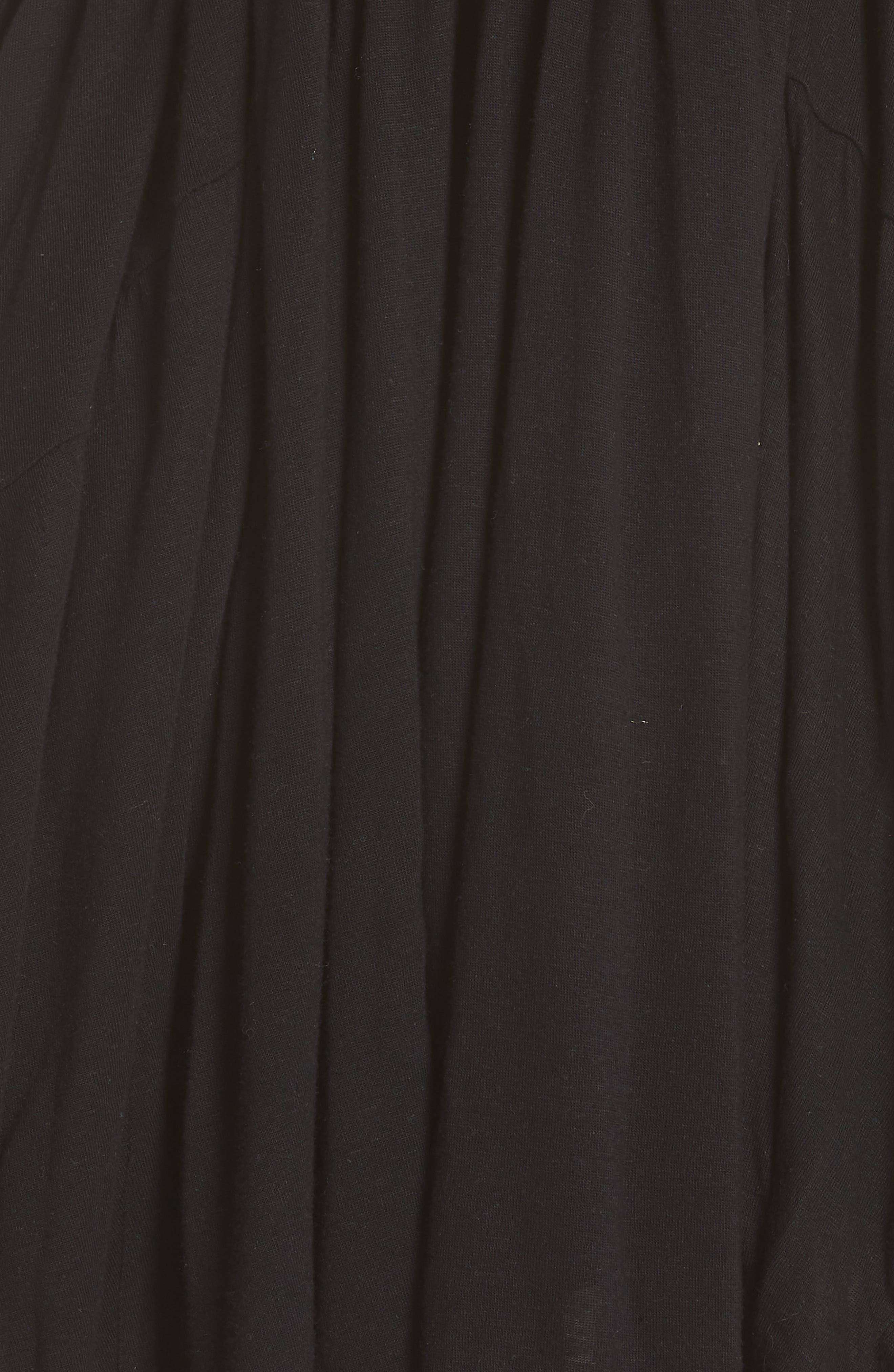 Lovers Cove Minidress,                             Alternate thumbnail 6, color,                             Black