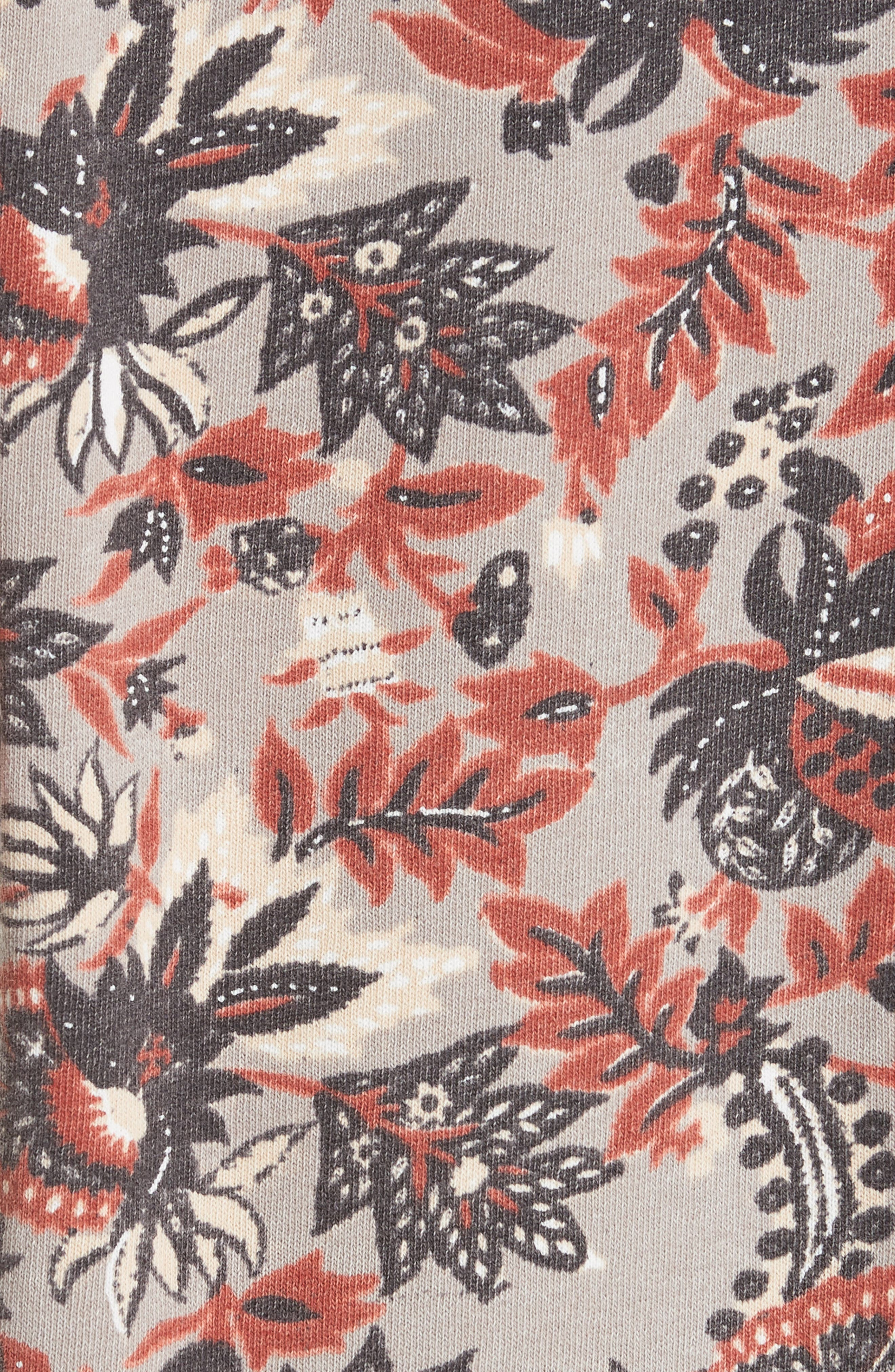 Go on Get Floral Sweatshirt,                             Alternate thumbnail 5, color,                             Brown