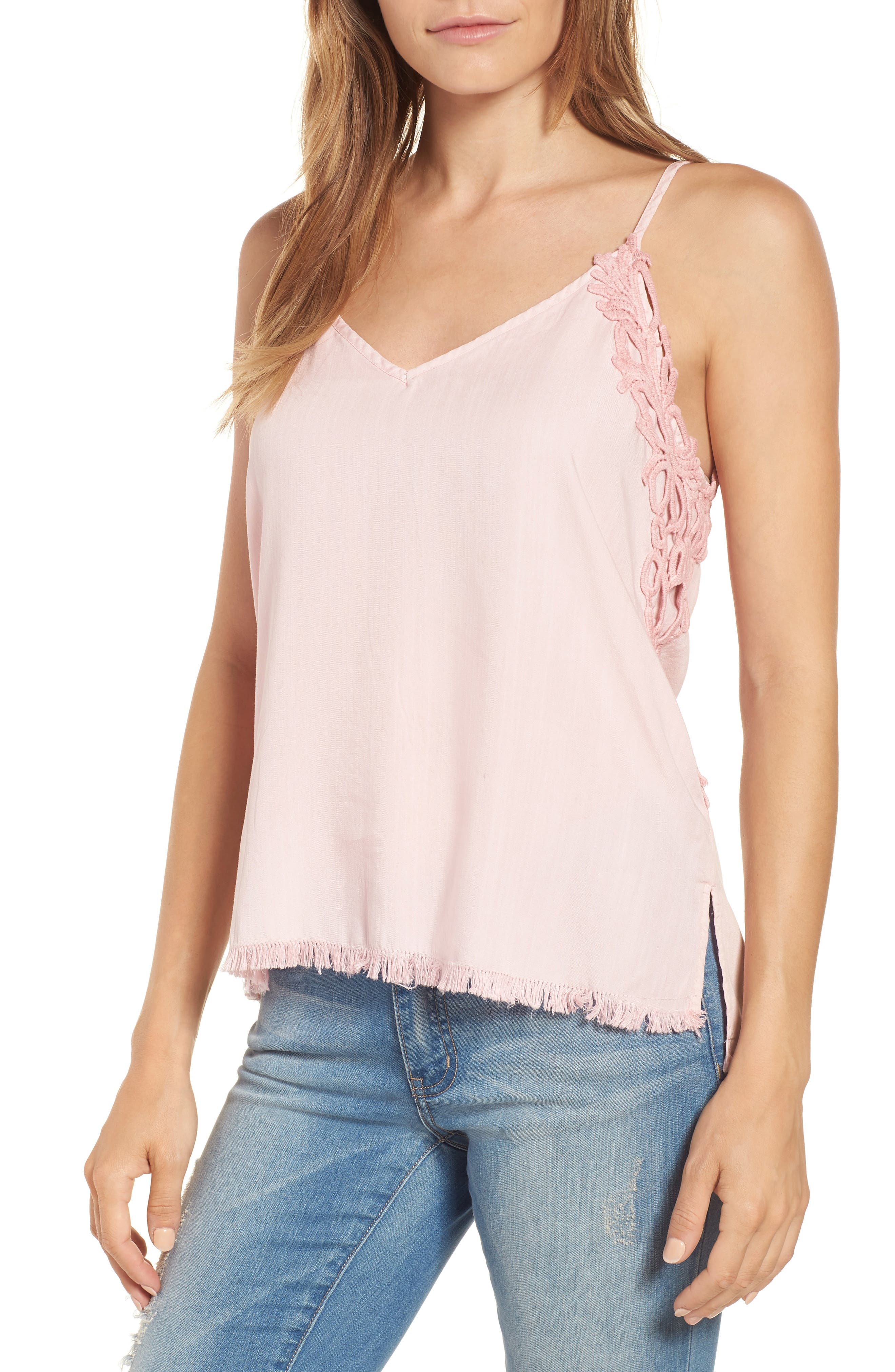 Billy T Chambray Camisole Top