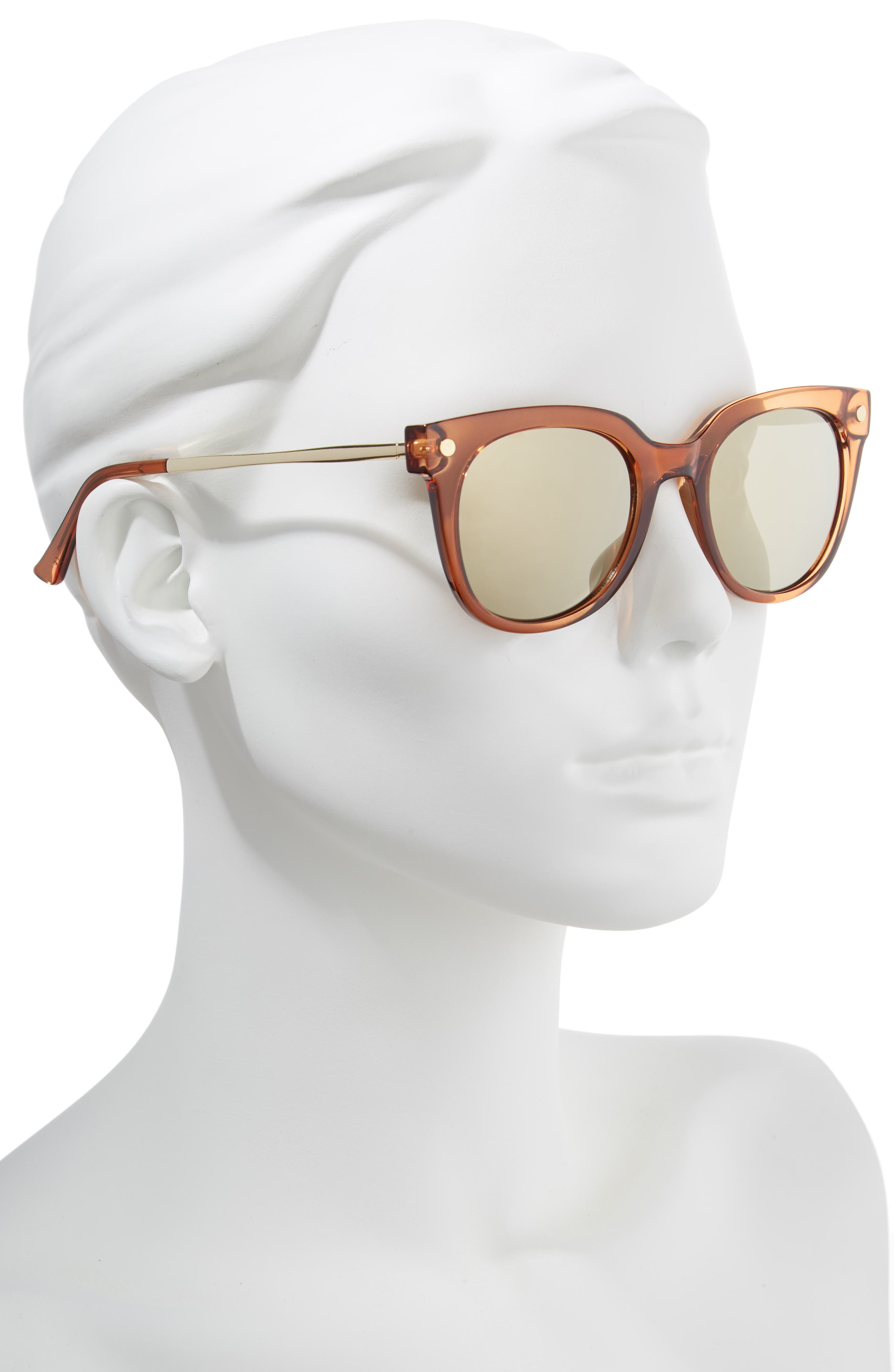 Malabar 52mm Sunglasses,                             Alternate thumbnail 2, color,                             Maple