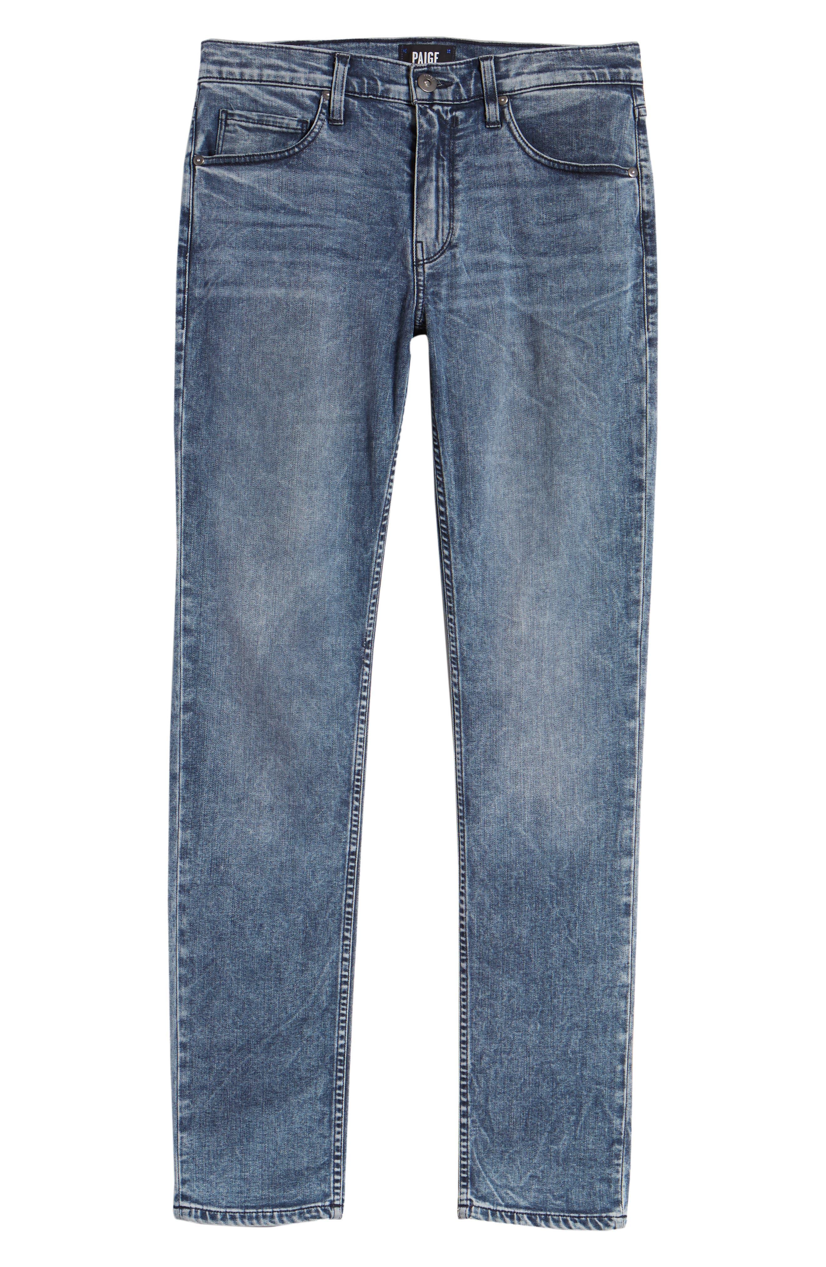 Transcend - Lennox Slim Fit Jeans,                             Alternate thumbnail 6, color,                             Higgs