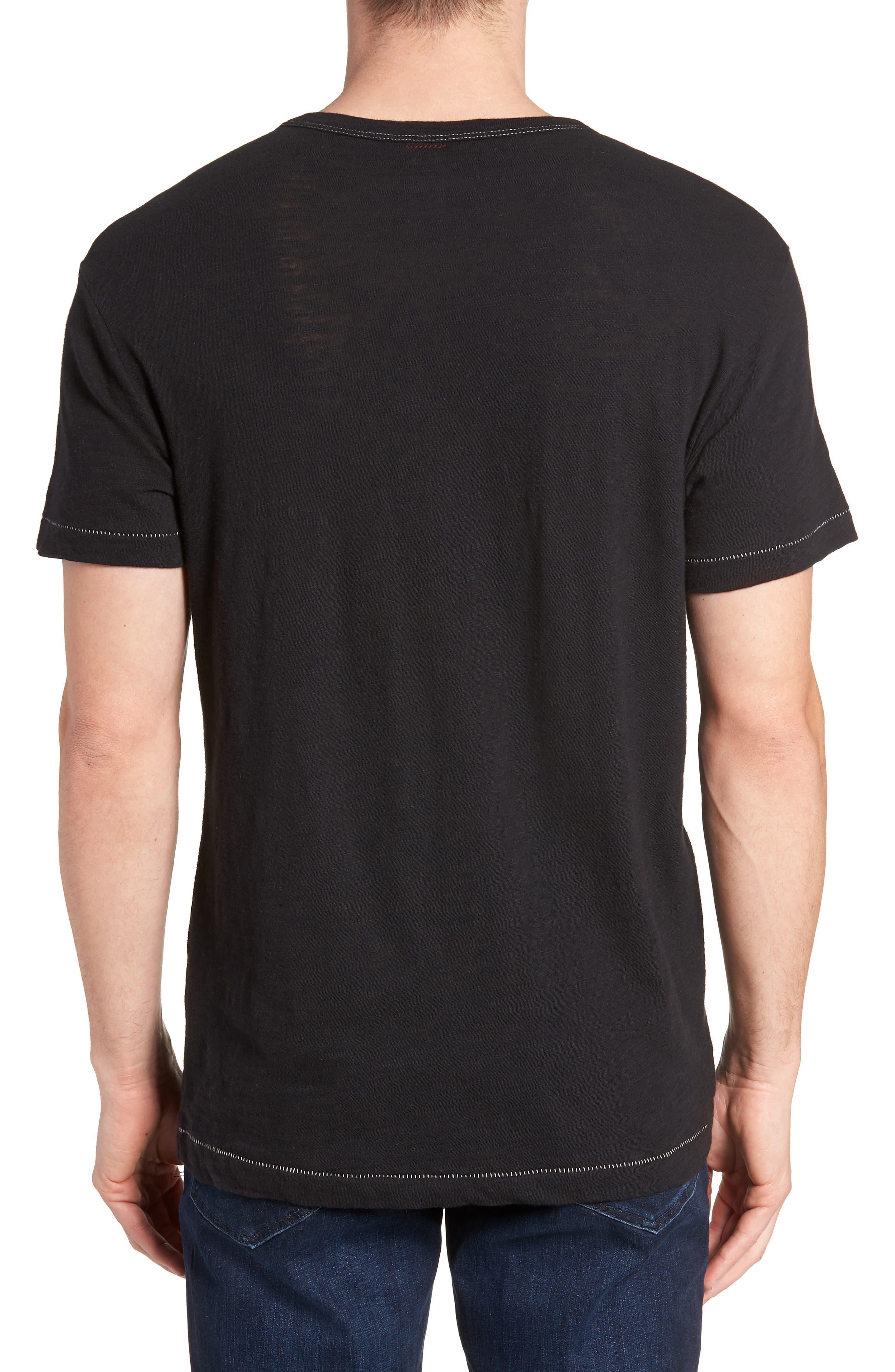 + Champion T-Shirt,                             Alternate thumbnail 2, color,                             Black