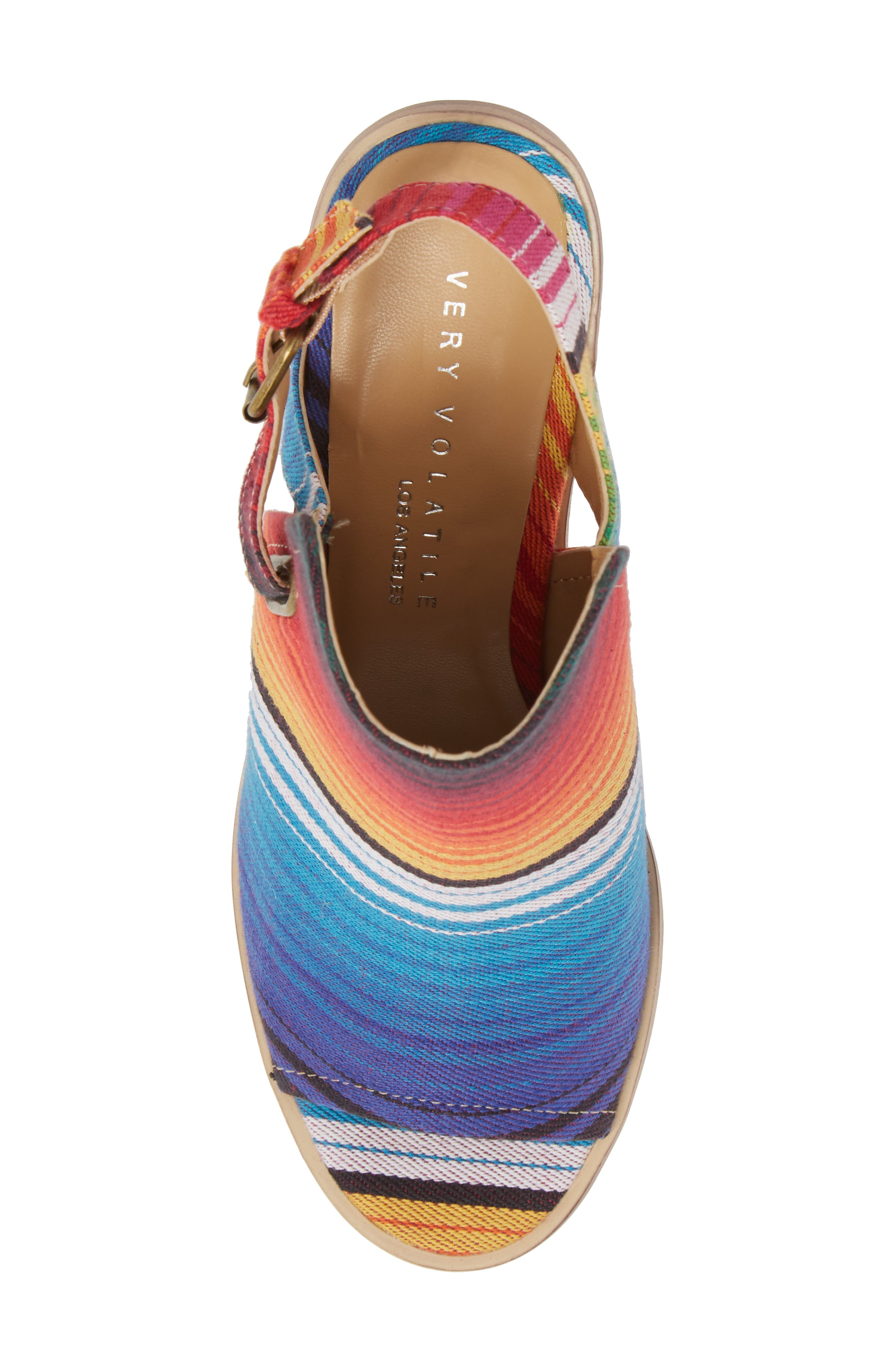Kerstin Sandal,                             Alternate thumbnail 5, color,                             Serape