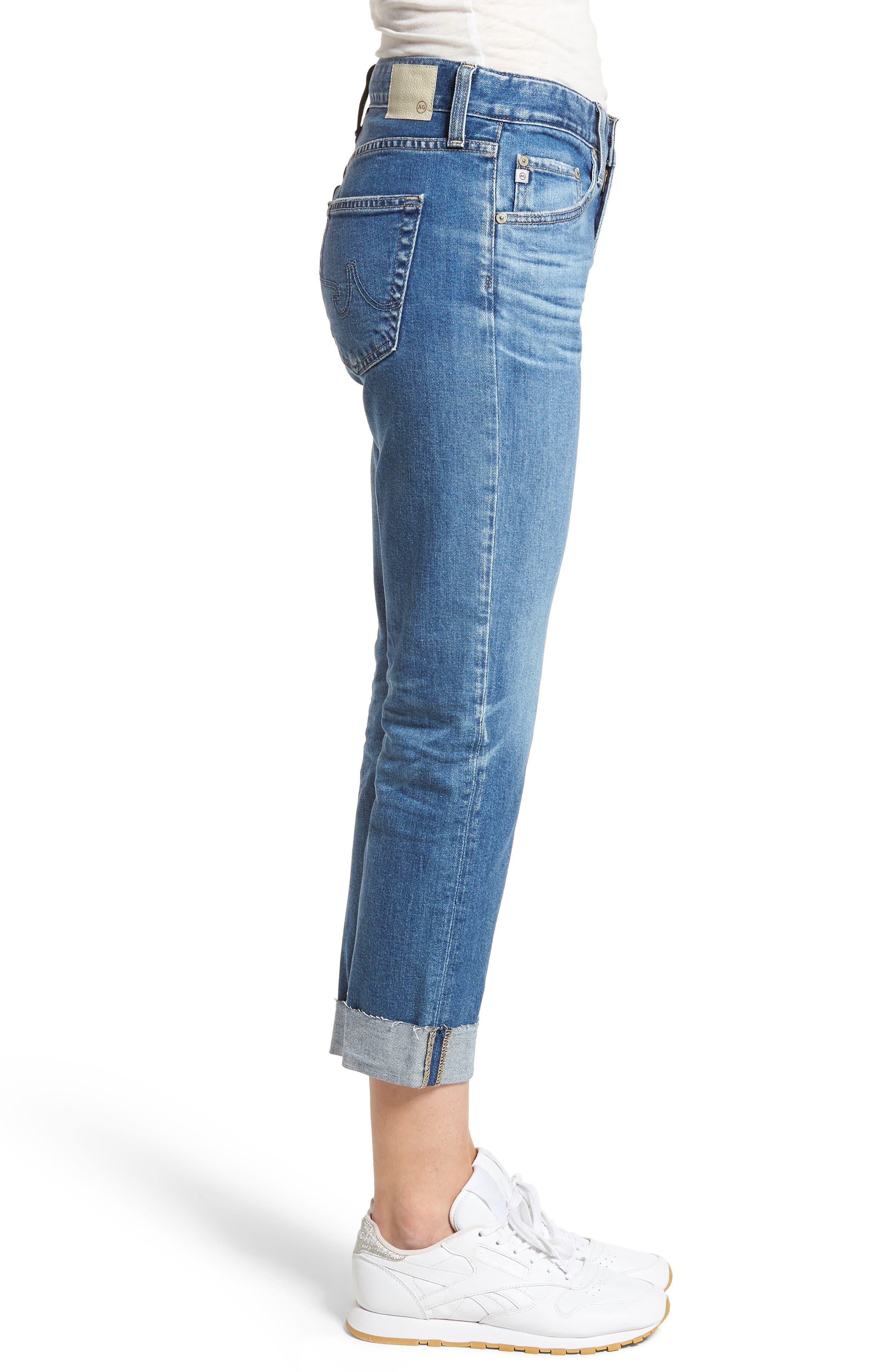 The Ex-Boyfriend Slim Jeans,                             Alternate thumbnail 3, color,                             14 Years Foxtail