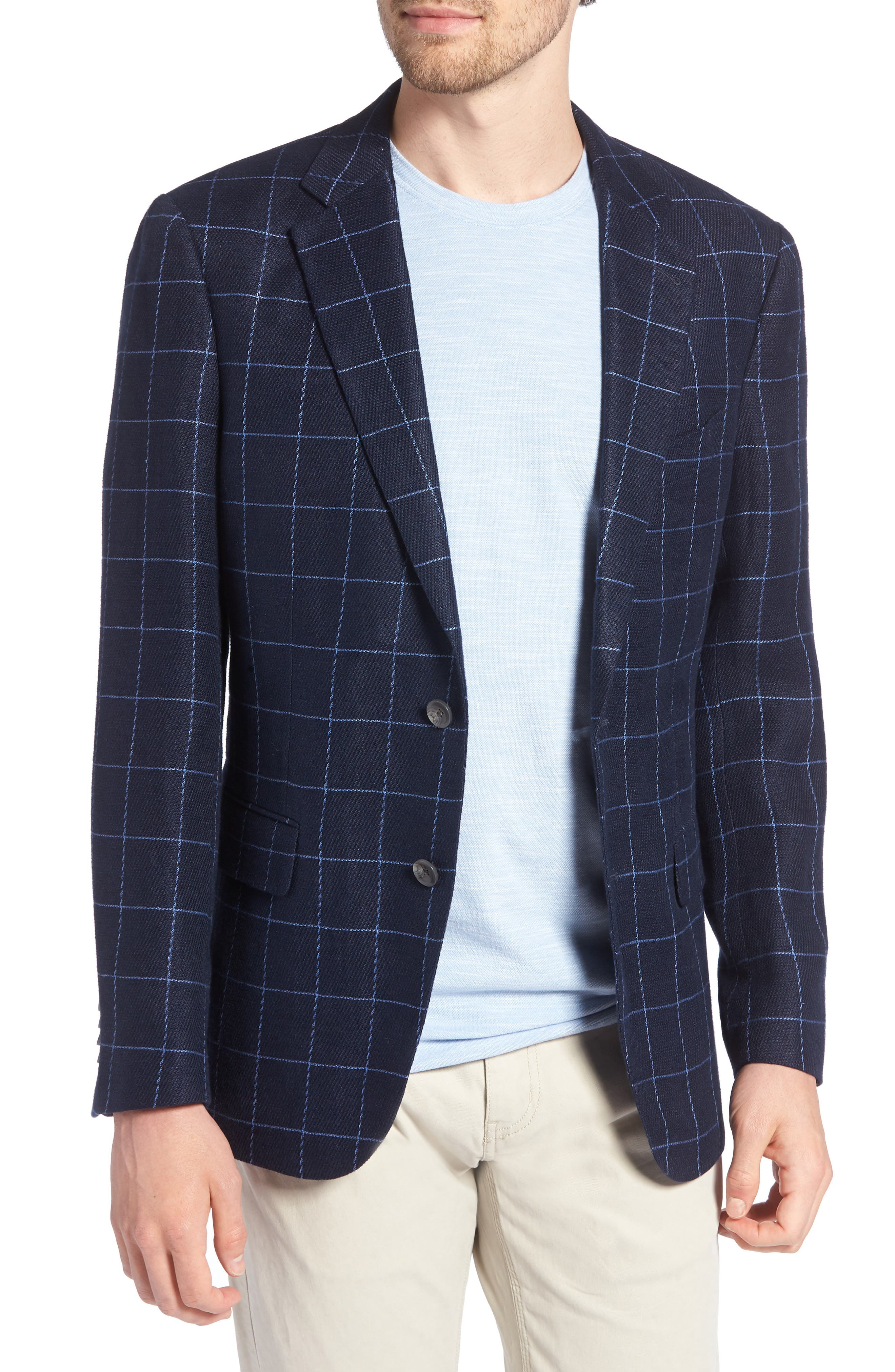 Underwood Regular Fit Sport Coat,                         Main,                         color, Navy