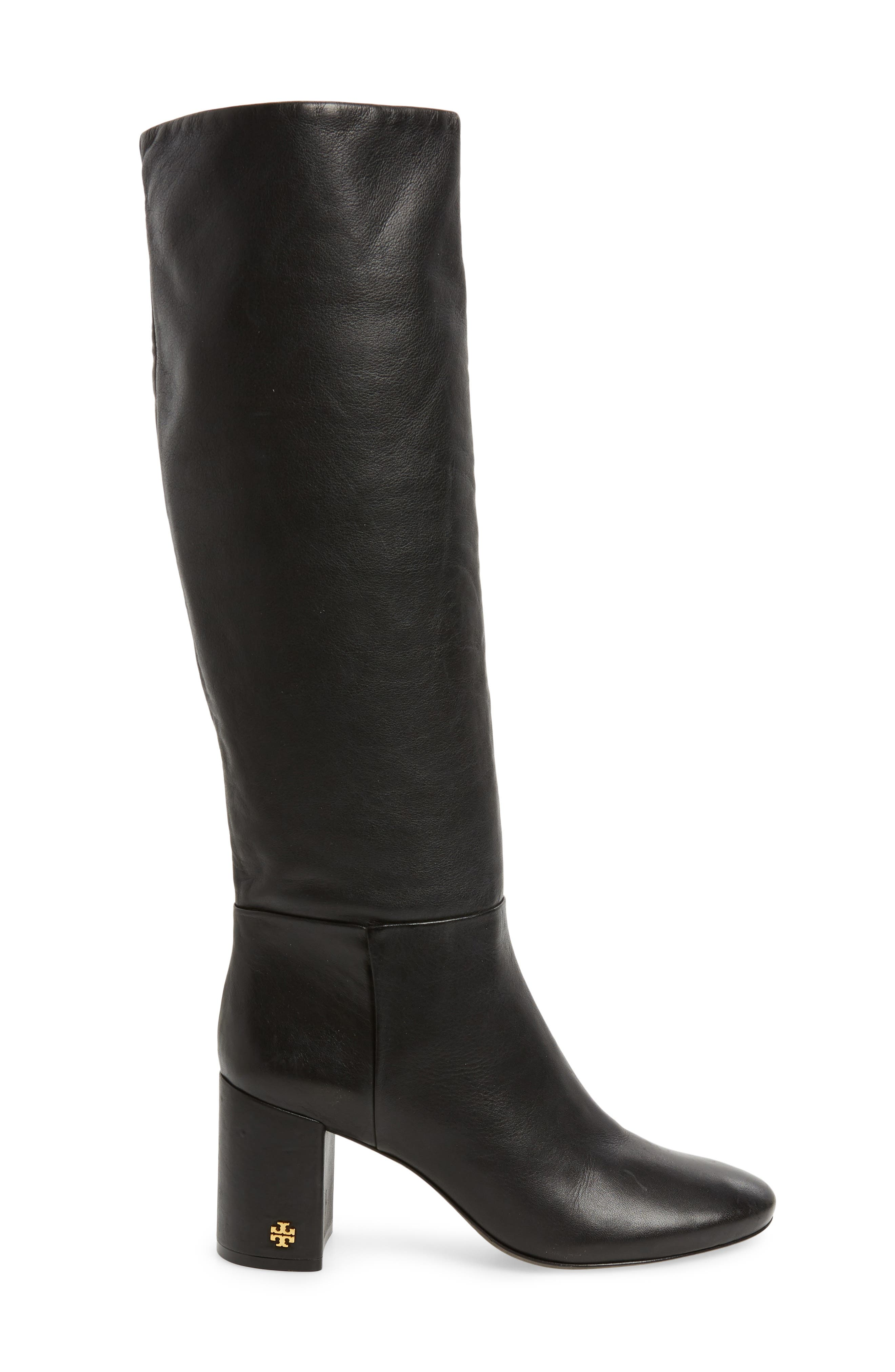 Brooke Slouchy Boot,                             Alternate thumbnail 3, color,                             Perfect Black