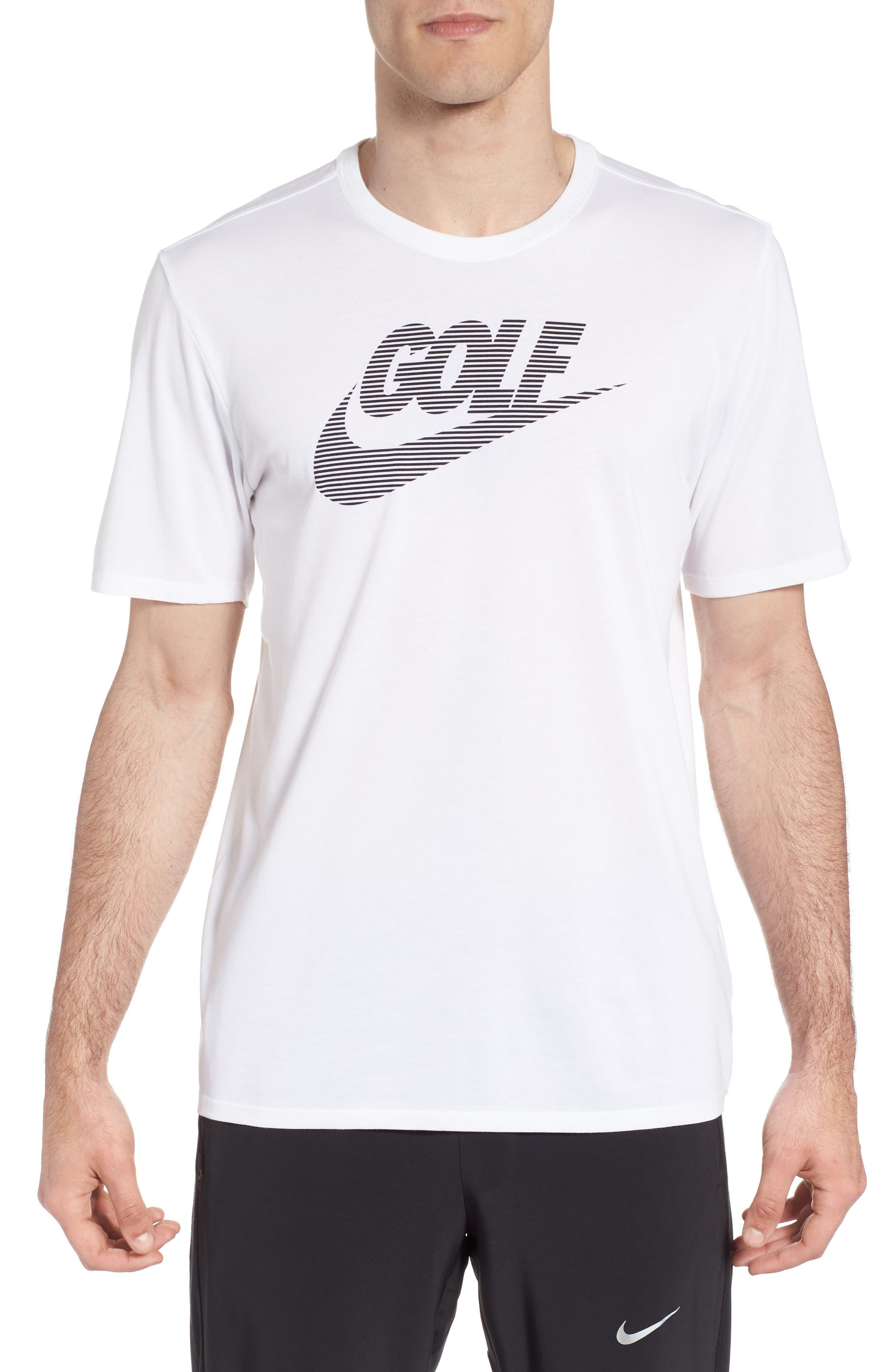 Dry Lockup T-Shirt,                         Main,                         color, White/ Black