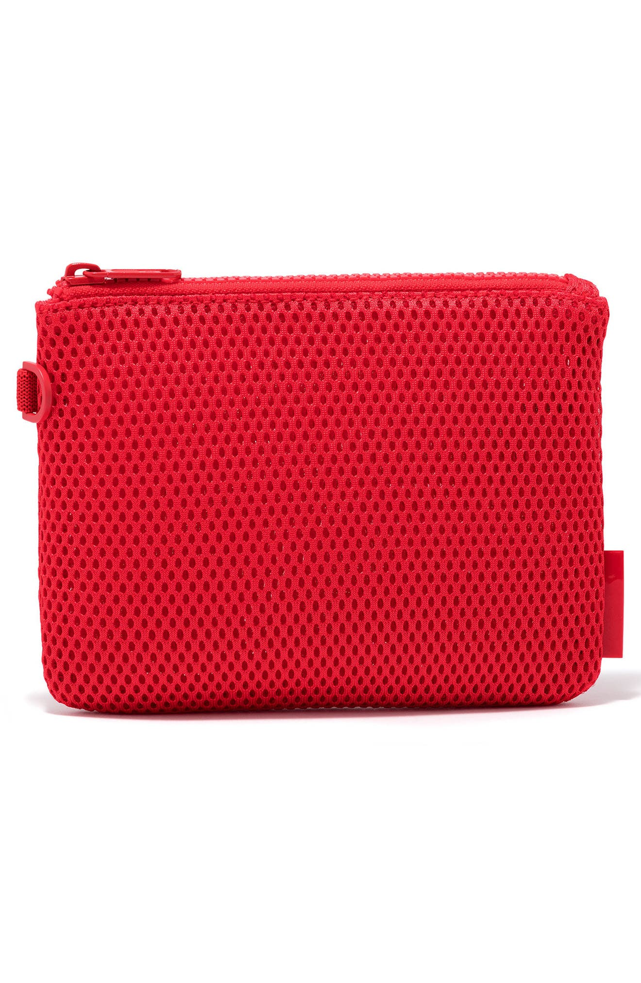 Small Parker Mesh Pouch,                             Alternate thumbnail 3, color,                             Poppy Air Mesh