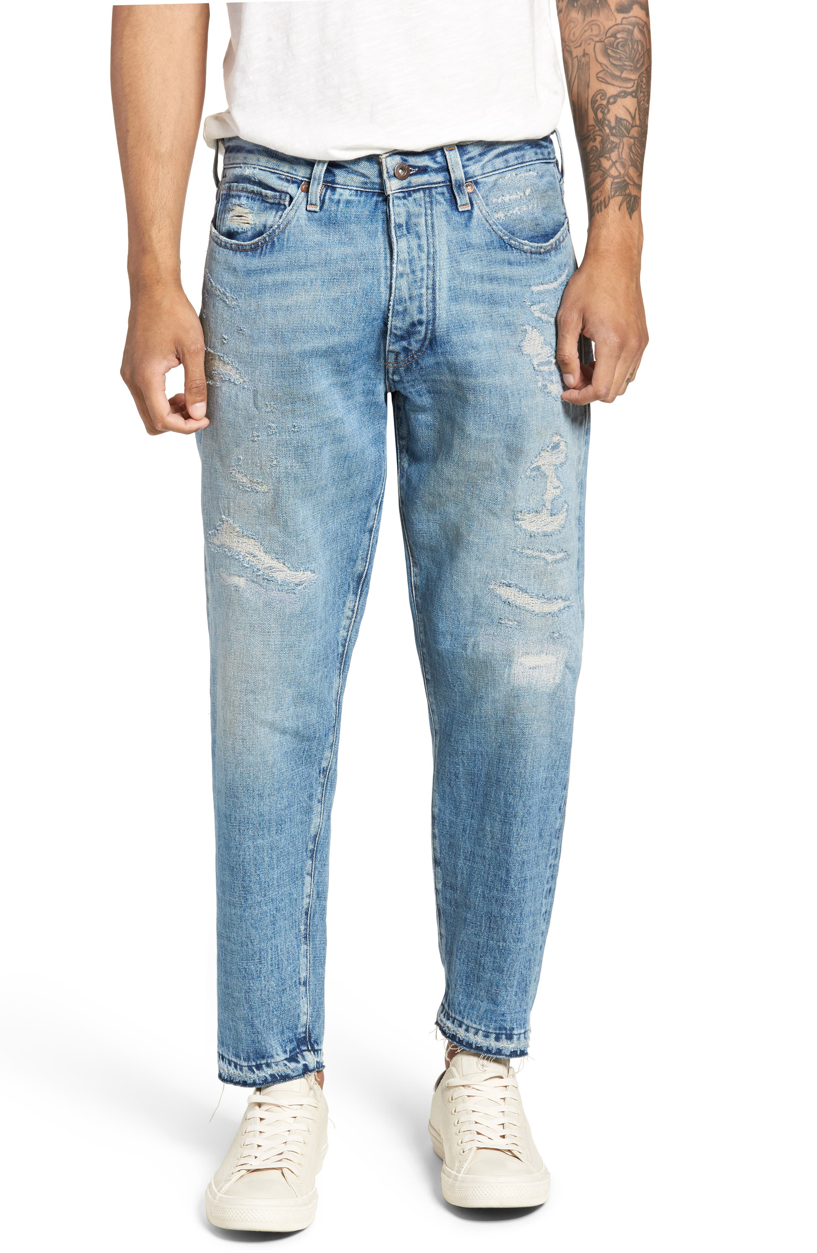 Draft Taper Standard Fit Jeans,                             Main thumbnail 1, color,                             Banzai Pipeline