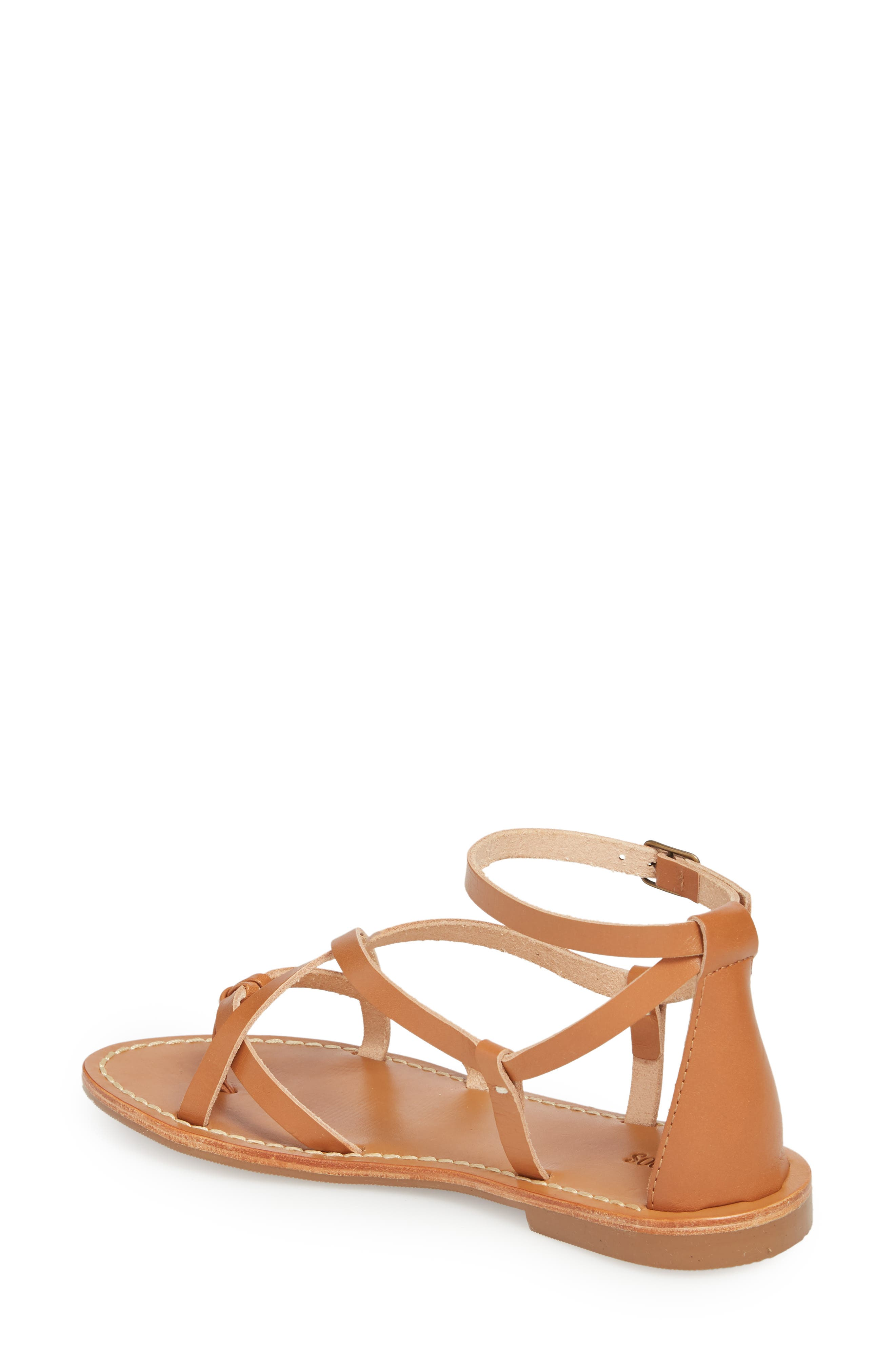 Strappy Sandal,                             Alternate thumbnail 2, color,                             Nude