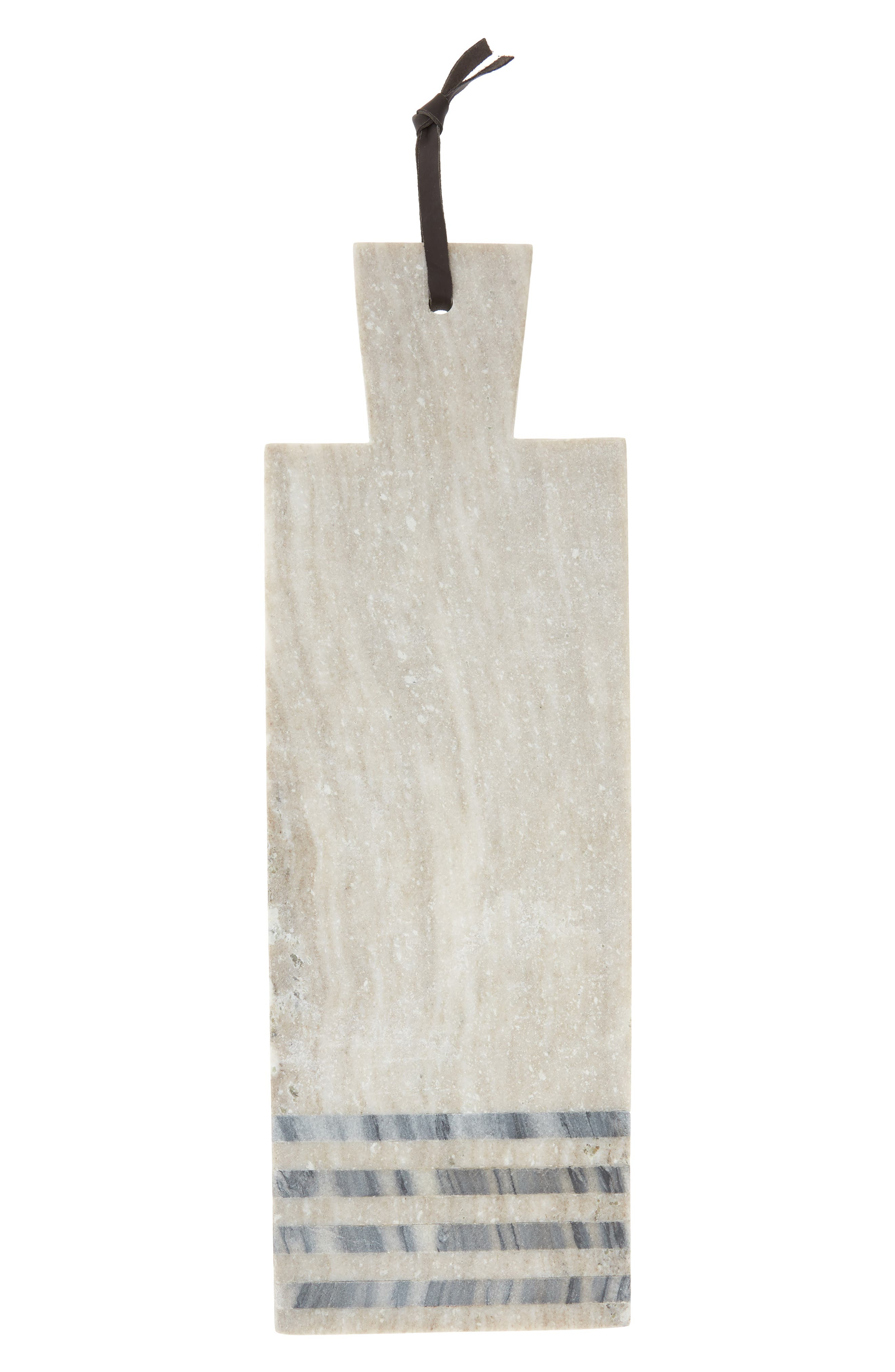 Nordstrom at Home Marble Stripe Cheese Tray
