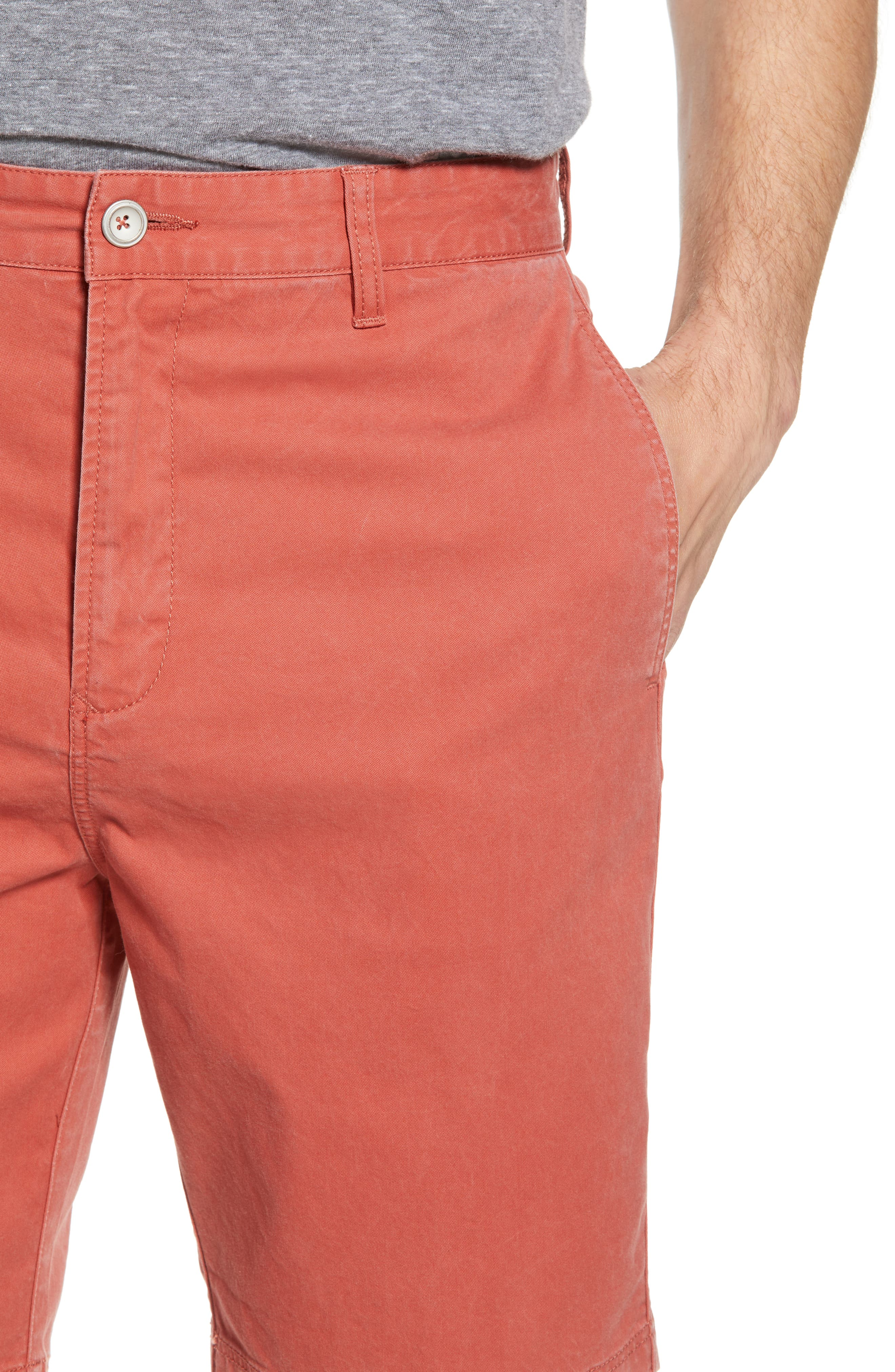 Glenburn Shorts,                             Alternate thumbnail 5, color,                             Red Ochre
