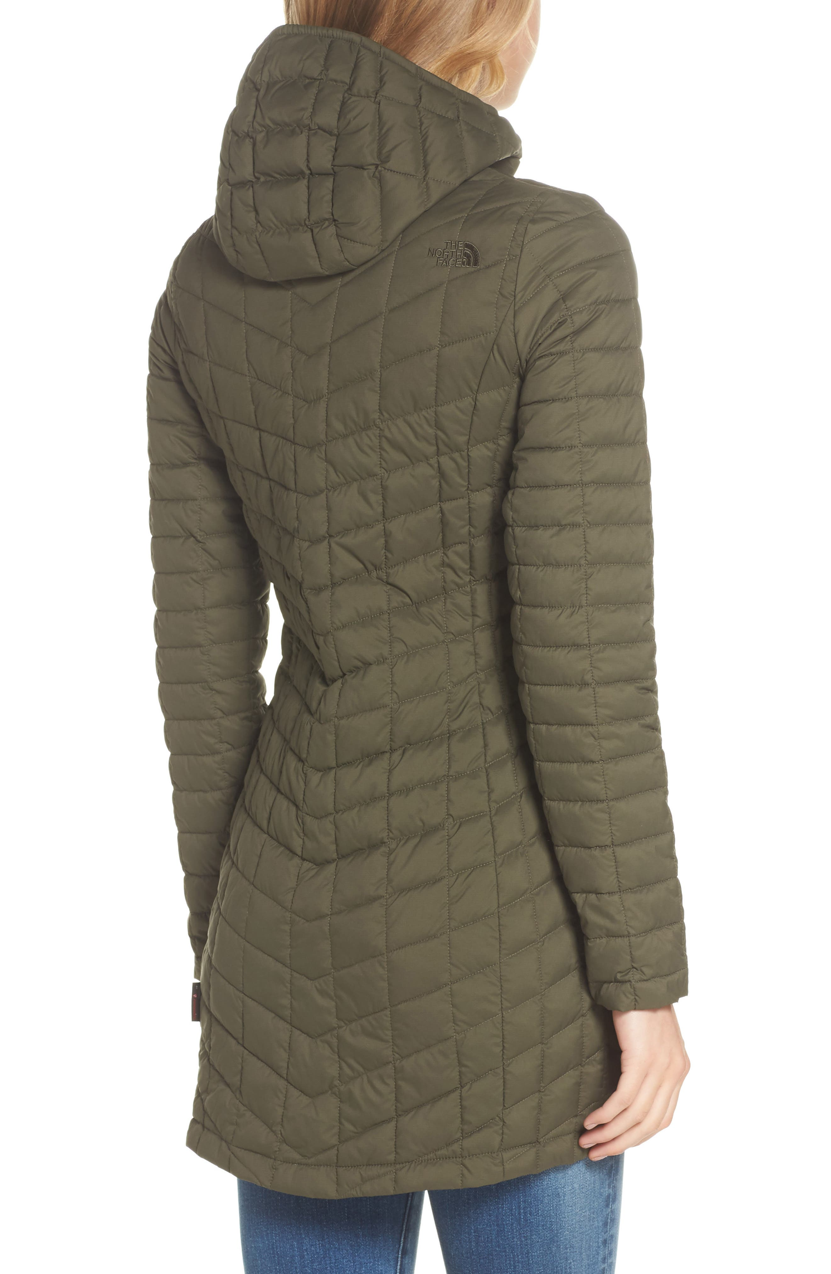 ThermoBall<sup>™</sup> PrimaLoft<sup>®</sup> Hooded Parka,                             Alternate thumbnail 2, color,                             New Taupe Green Matte