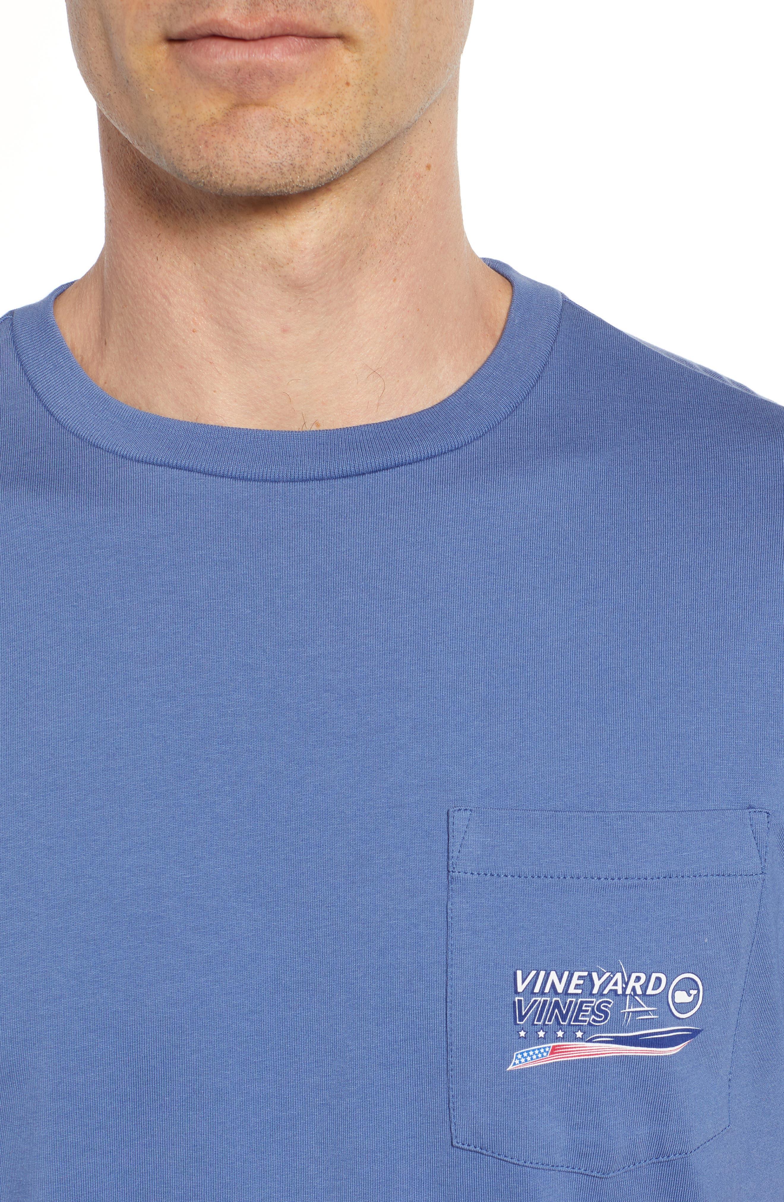 American Sportfisher T-Shirt,                             Alternate thumbnail 4, color,                             Moonshine