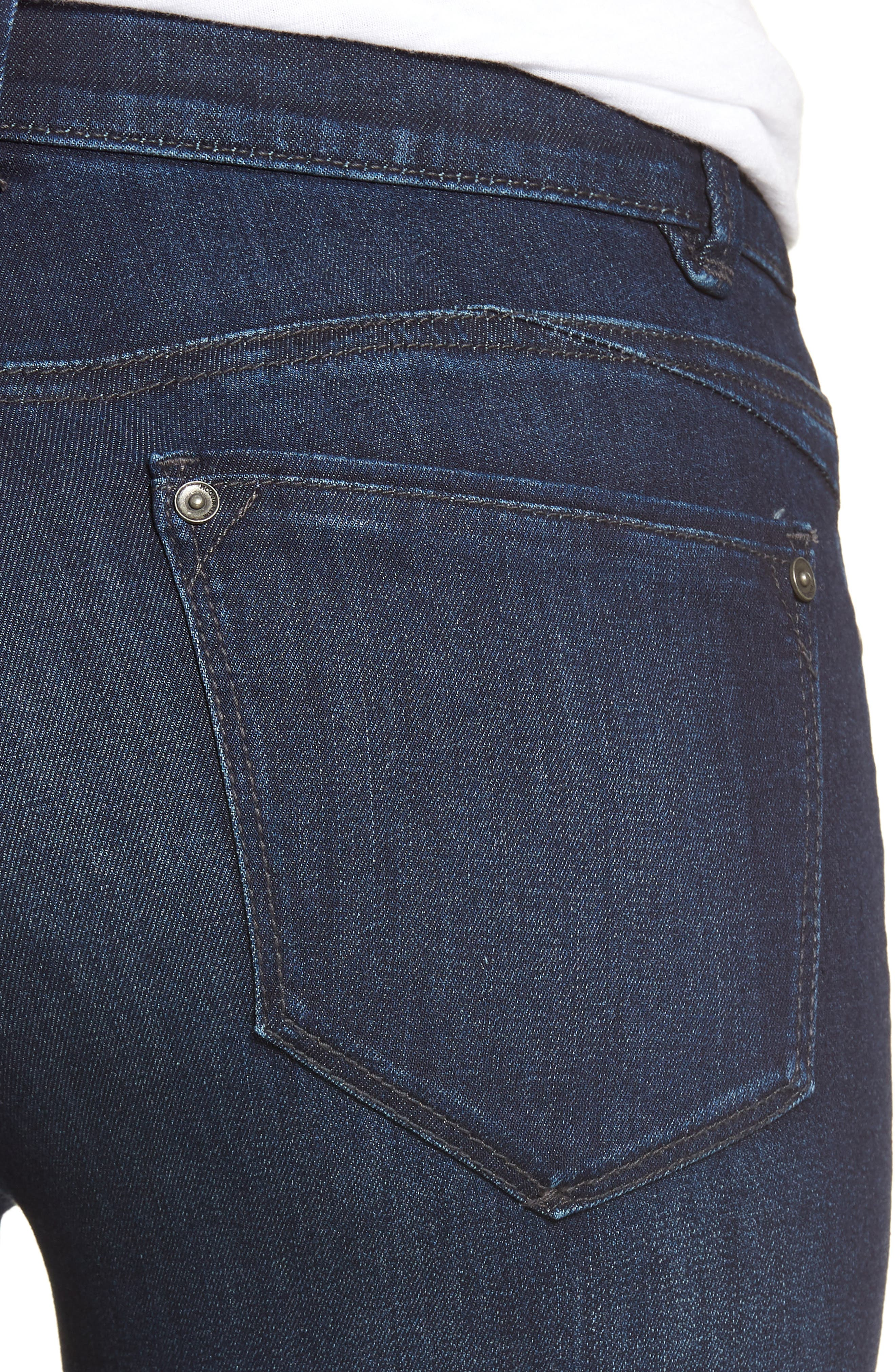 Ab-solution Skinny Jeans,                             Alternate thumbnail 4, color,                             In- Indigo